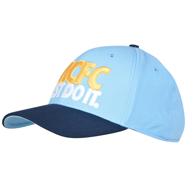 Manchester City Legacy Swoosh Flex Cap Blue