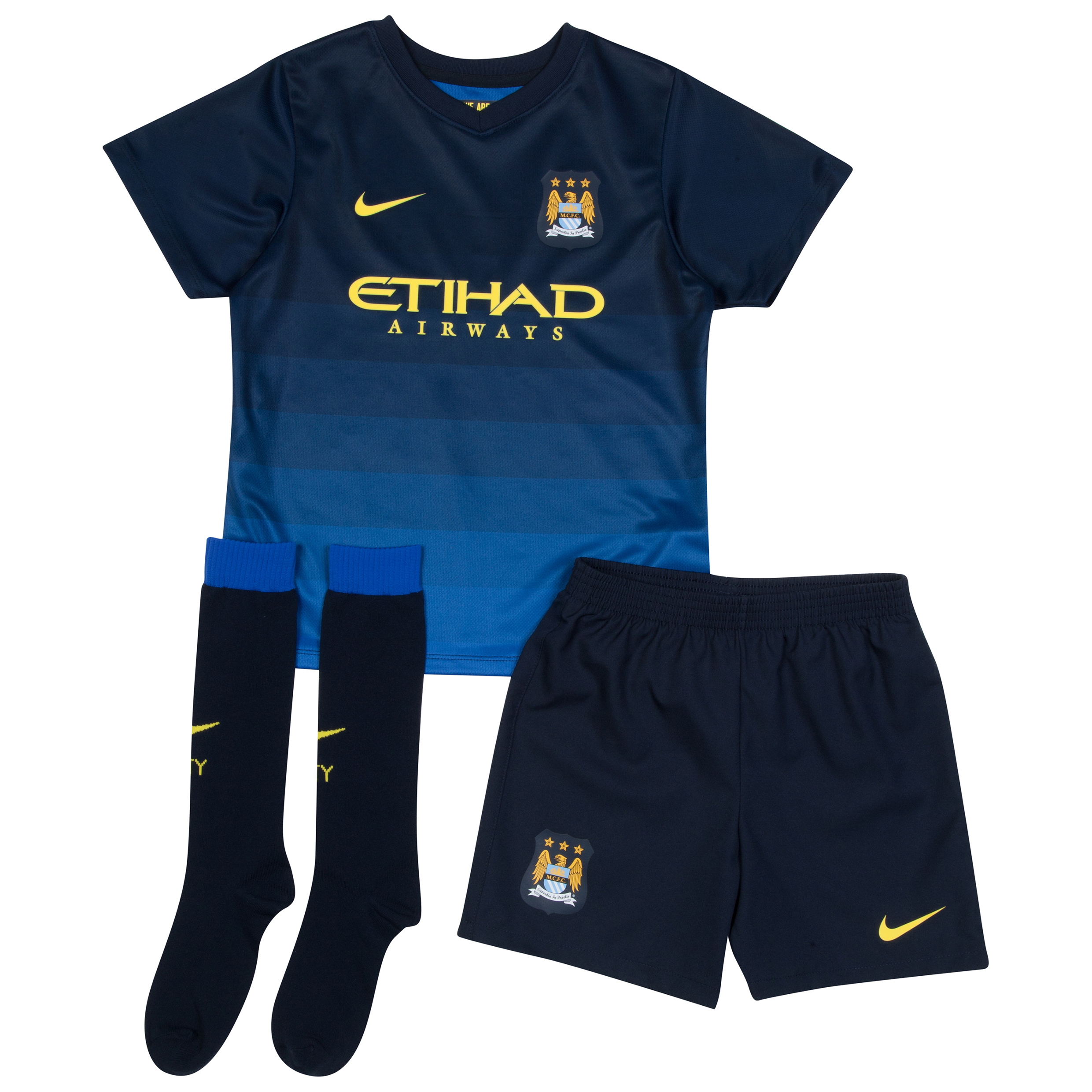 Manchester City Away Kit 2014/15 - Little Boys