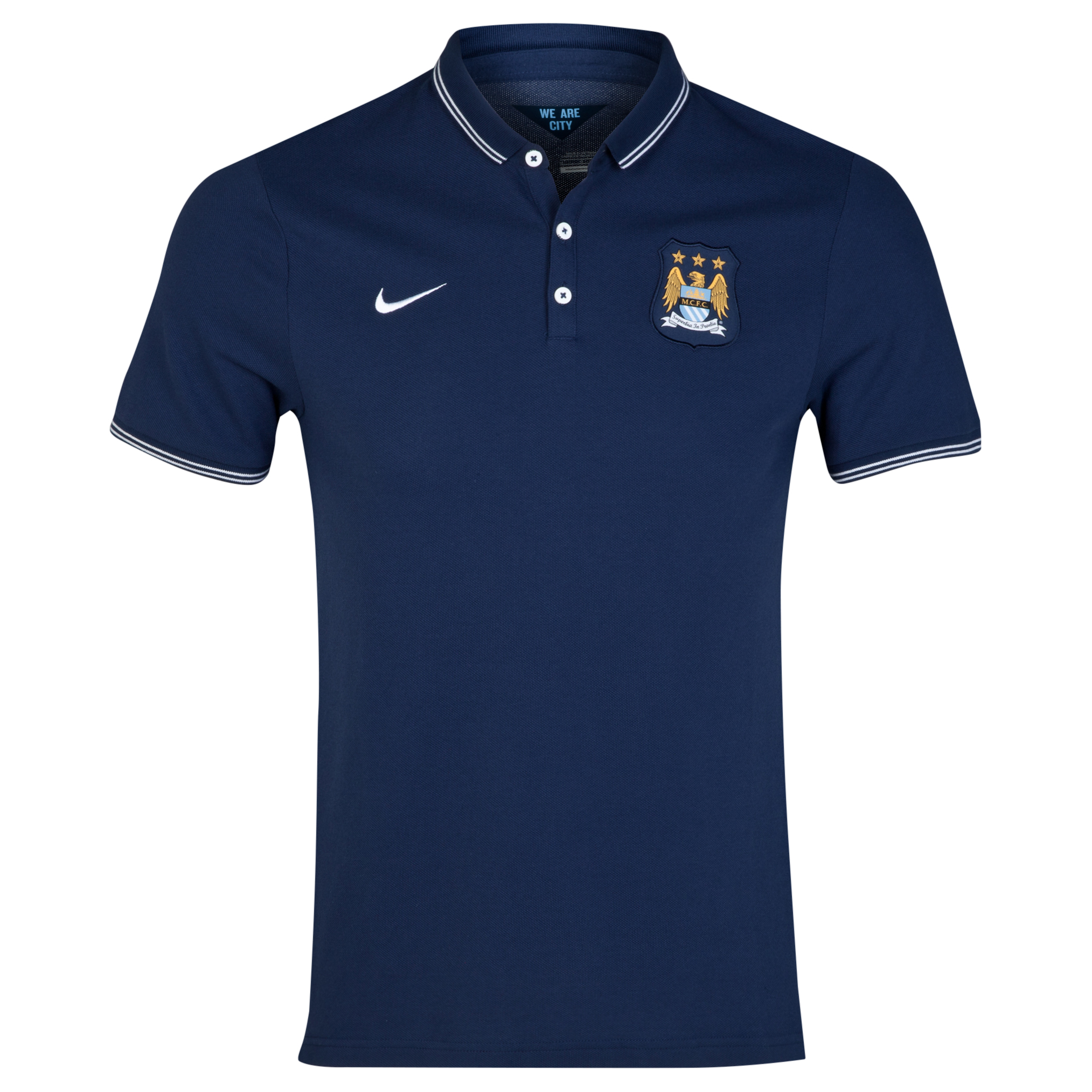 Manchester City League Authentic Polo