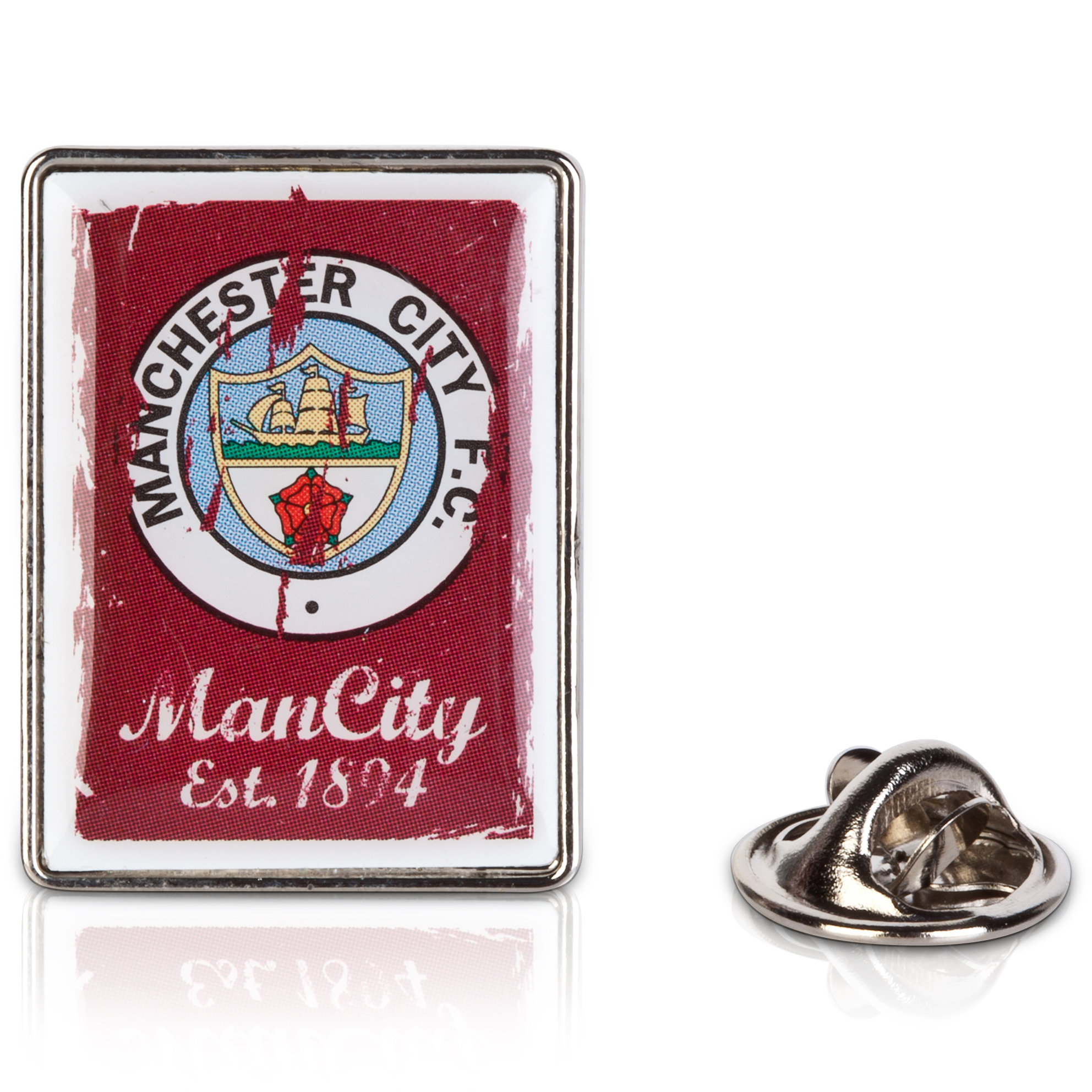 Manchester City Retro Crest Badge