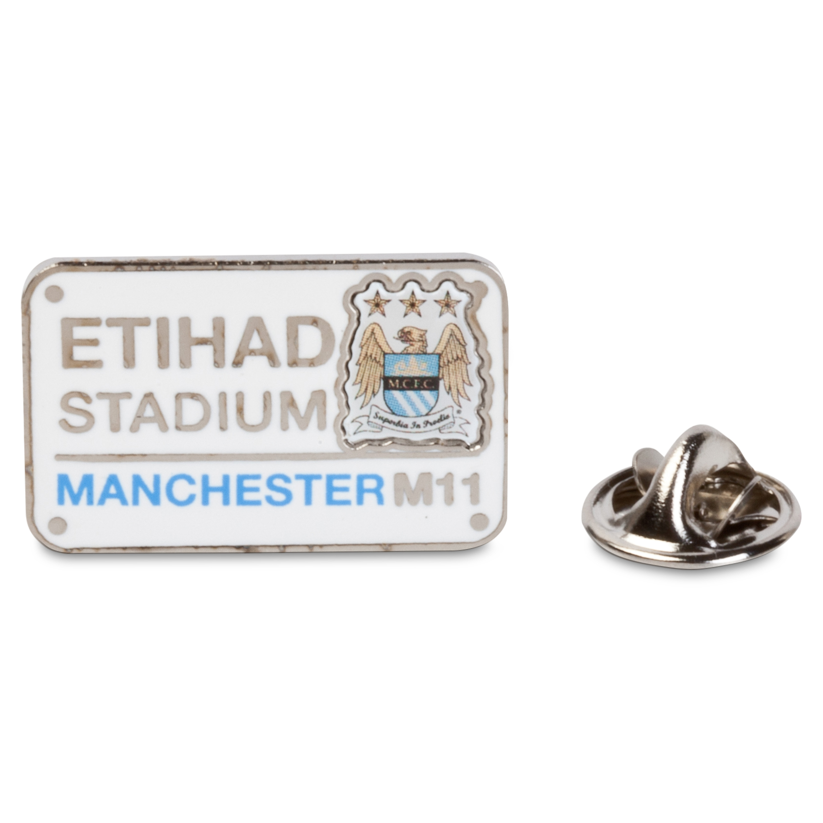 Manchester City Street Sign Badge