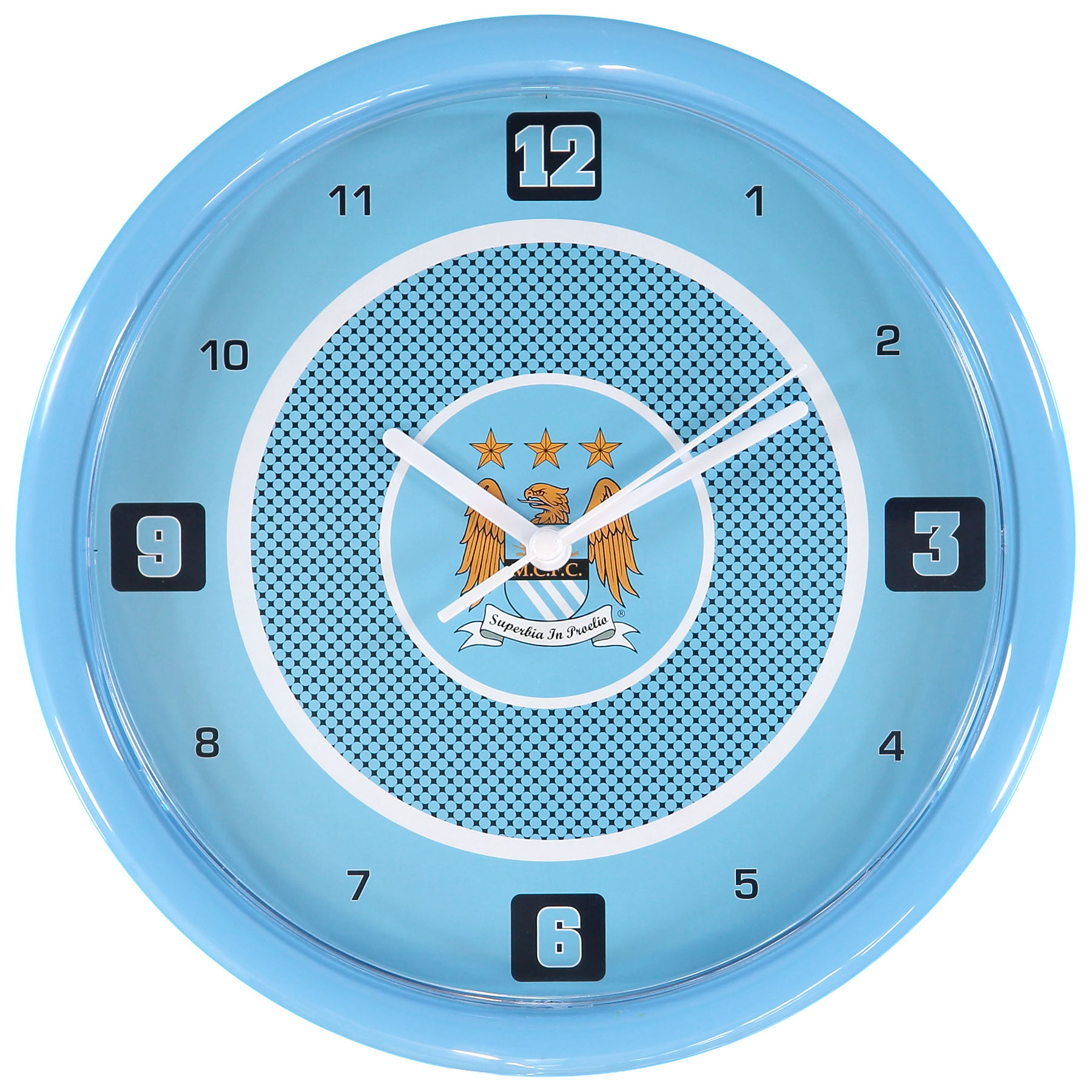 Manchester City Crest Wall clock