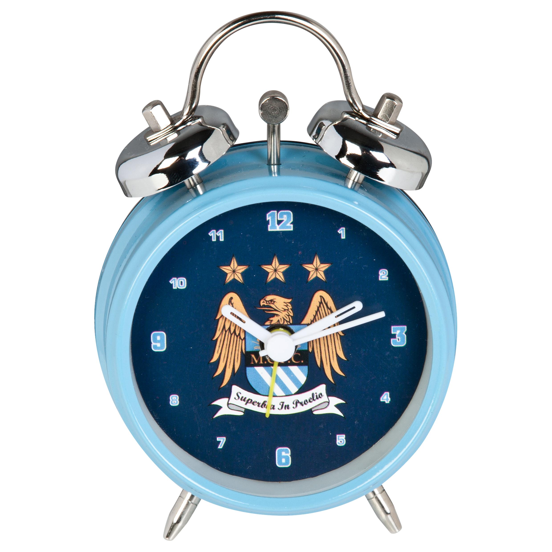 Manchester City Crest MCFC Crest Alarm Clock