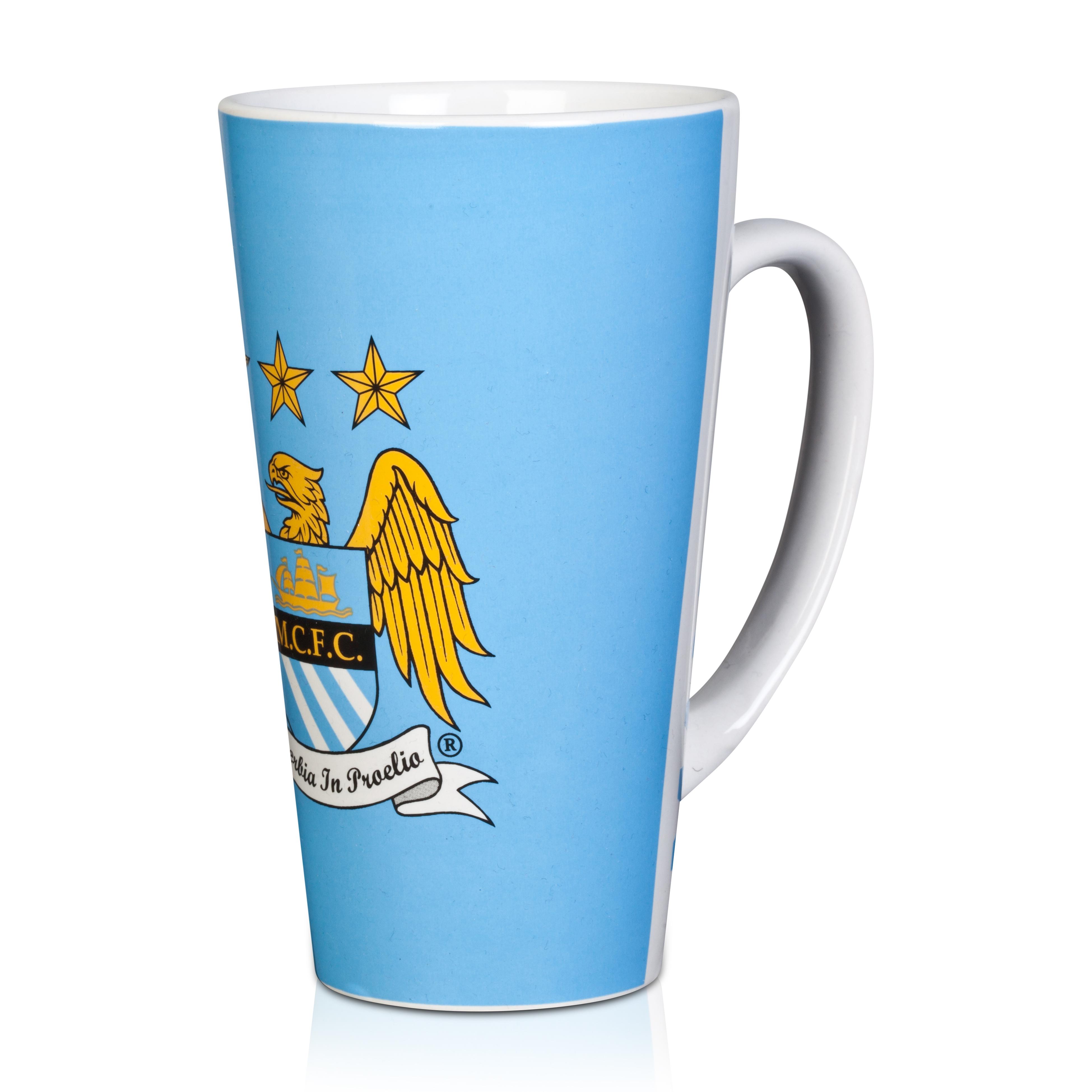 Manchester City Latte Mug