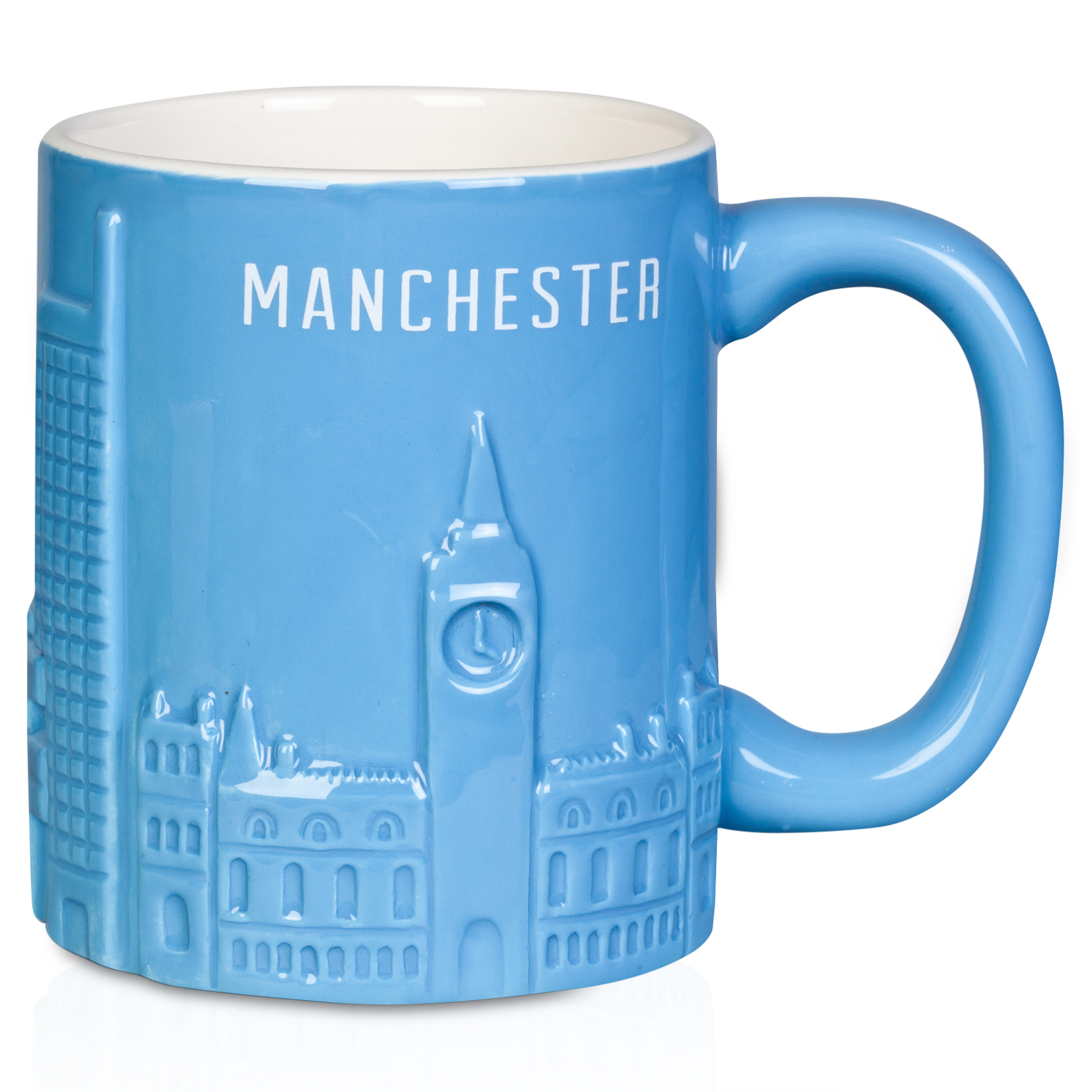 Manchester City Sculptured Skyline Mug