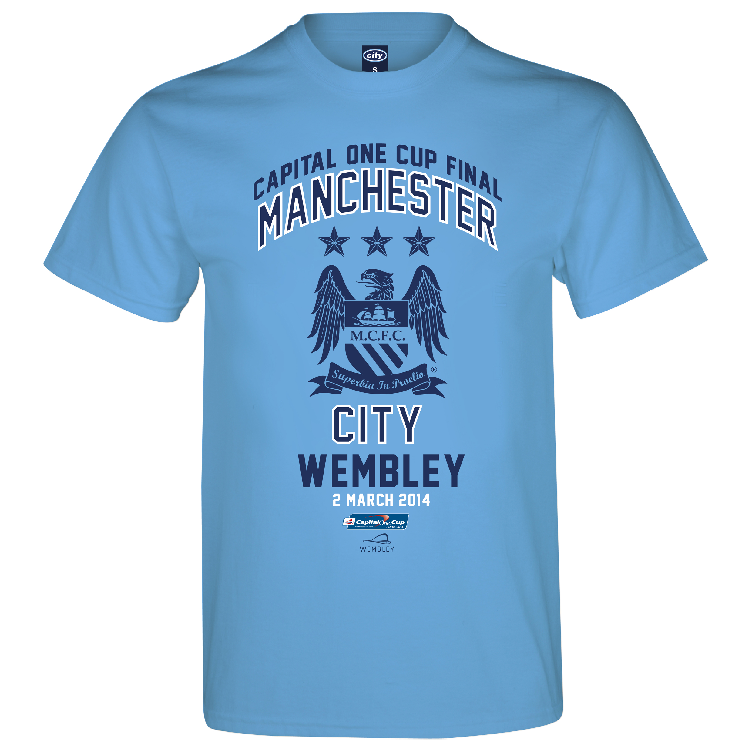 Manchester City Capital One Cup Final T-Shirt