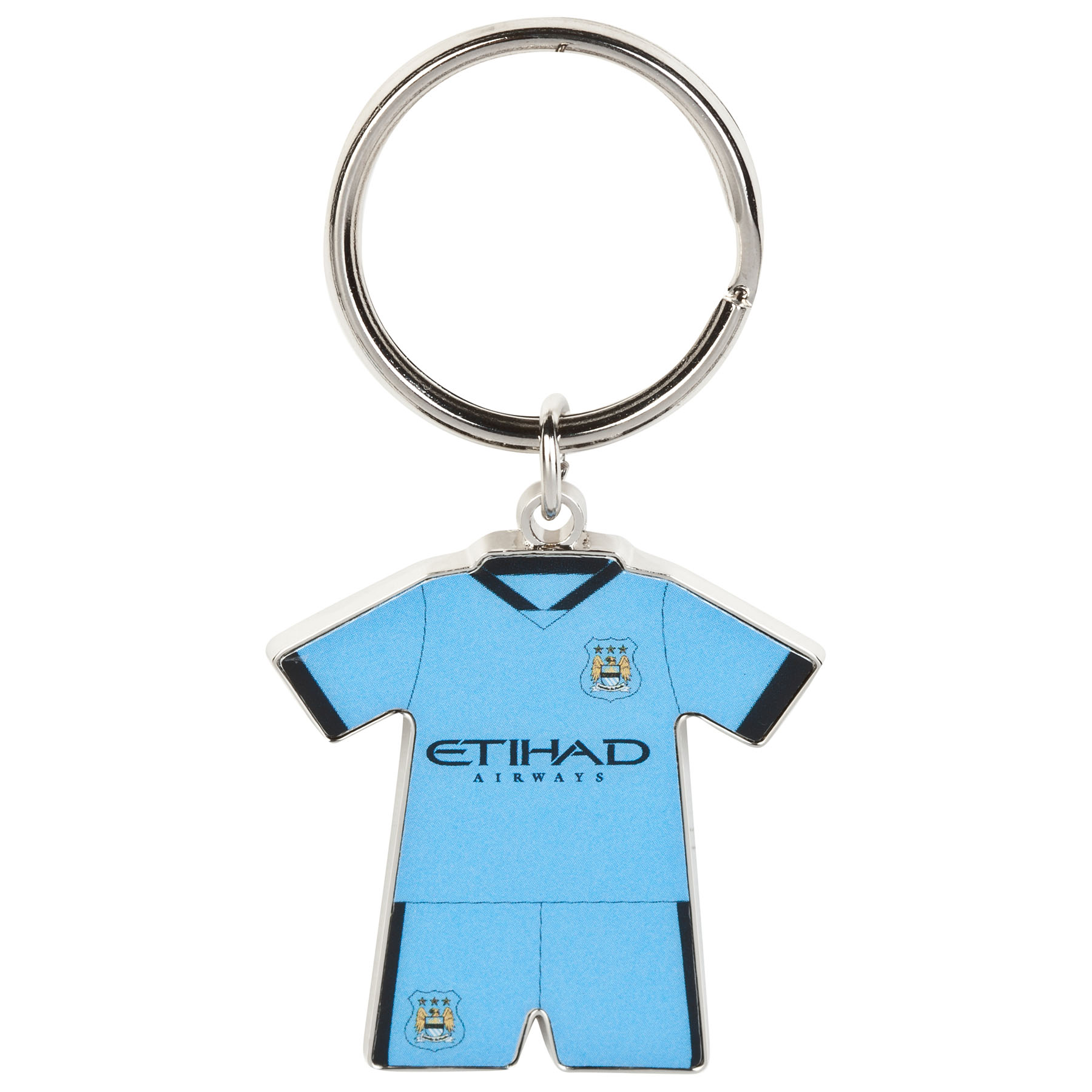Manchester City Home Kit Keyring 14/15
