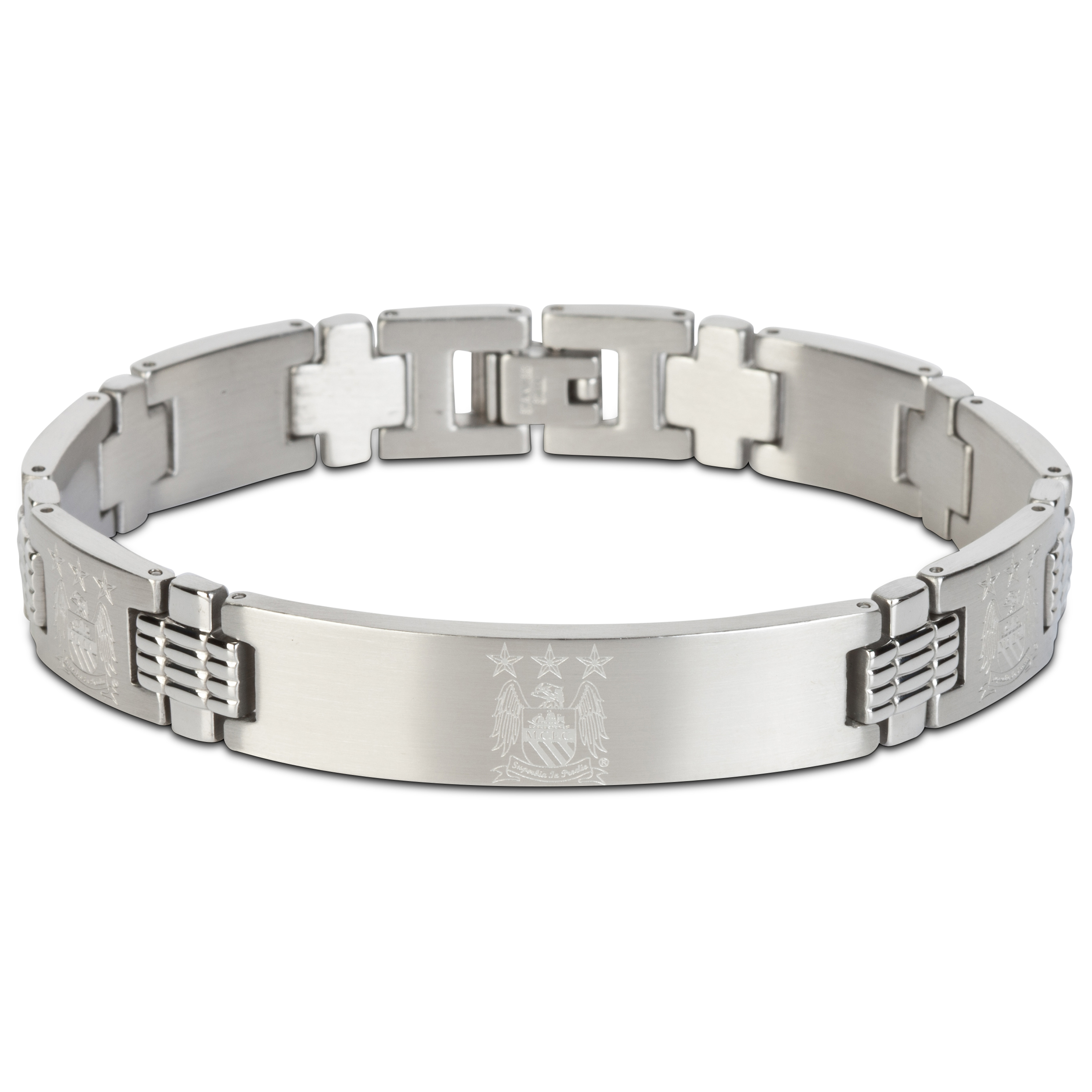 Manchester City Crest Bracelet with Links