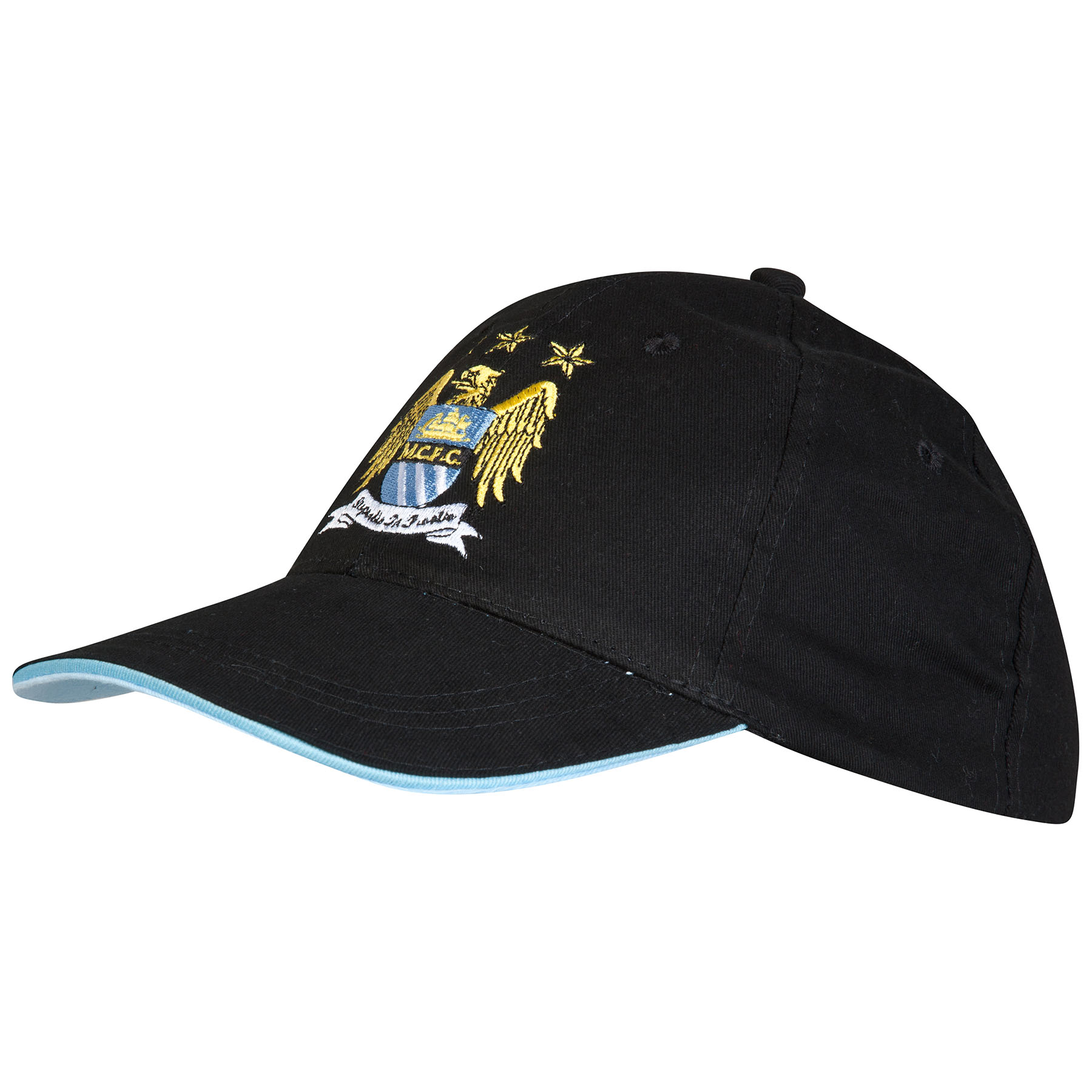 Manchester City Core Cap Junior Black