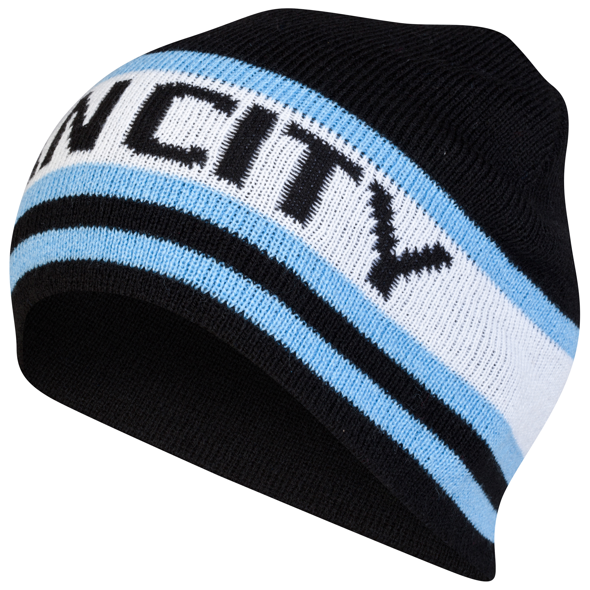 Manchester City Core Beanie Hat Black
