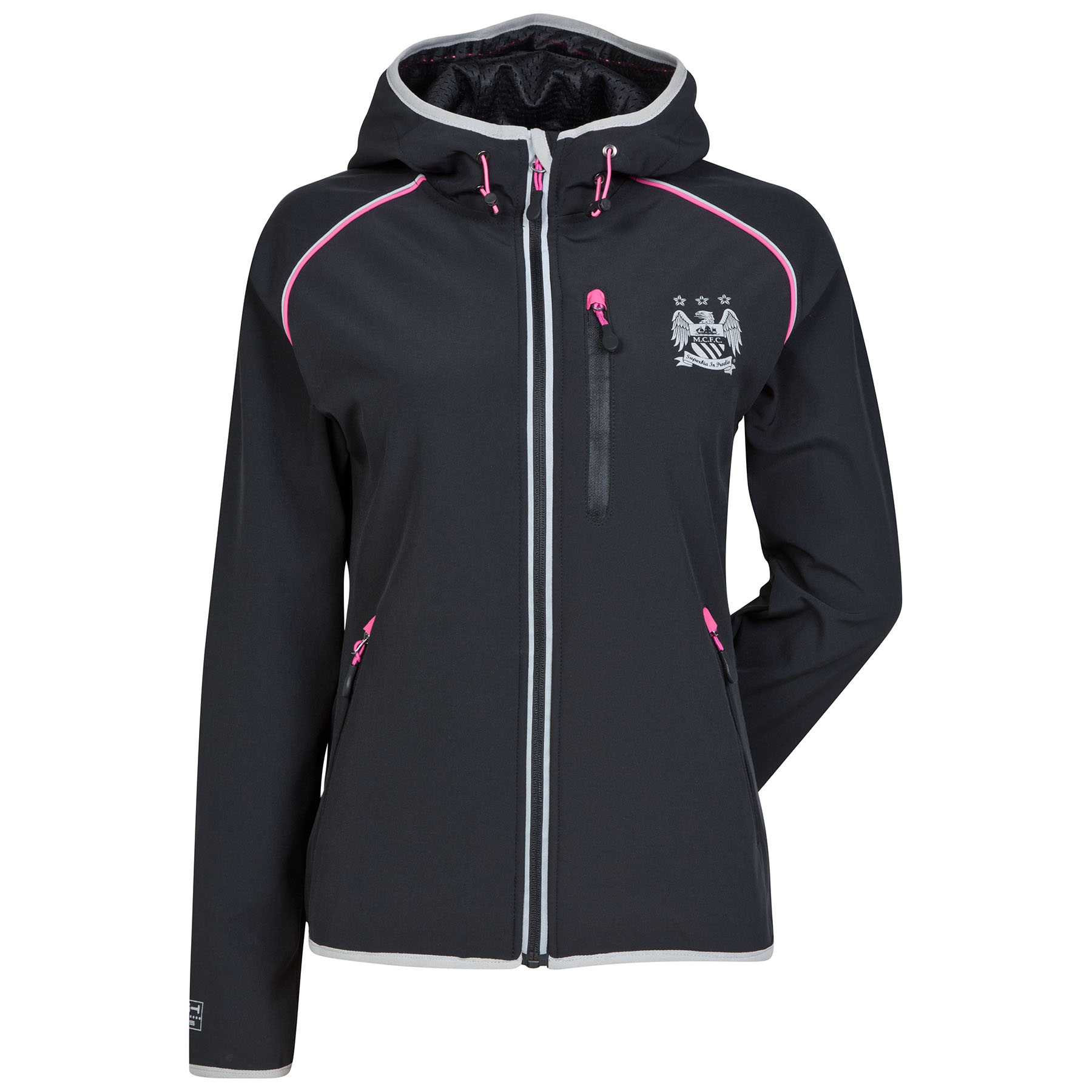 Manchester City Performance Softshell Jacket - Black - Womens
