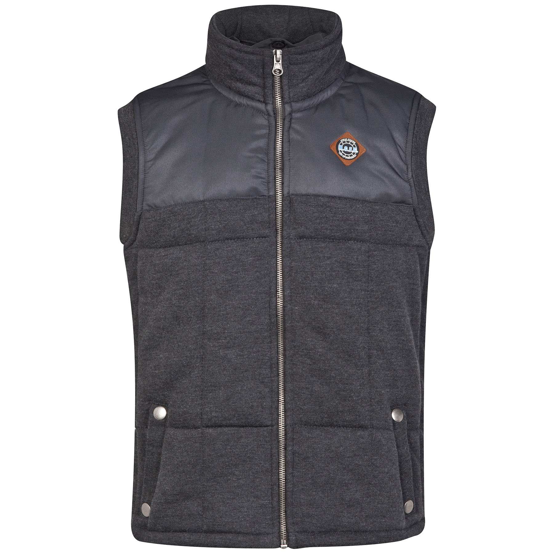 Manchester City Gilet - Charcoal - Older Boys
