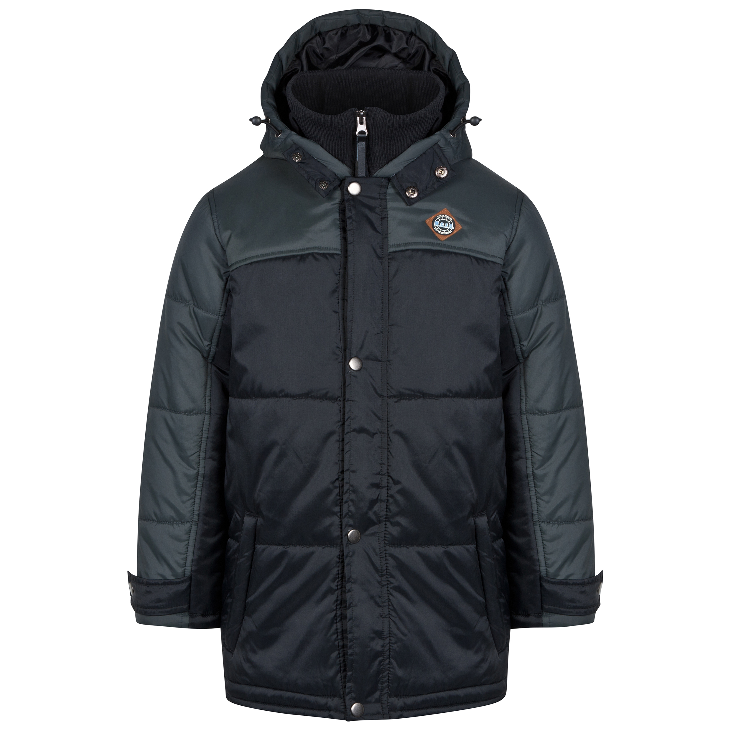 Manchester City Padded Coat - Black - Older Boys