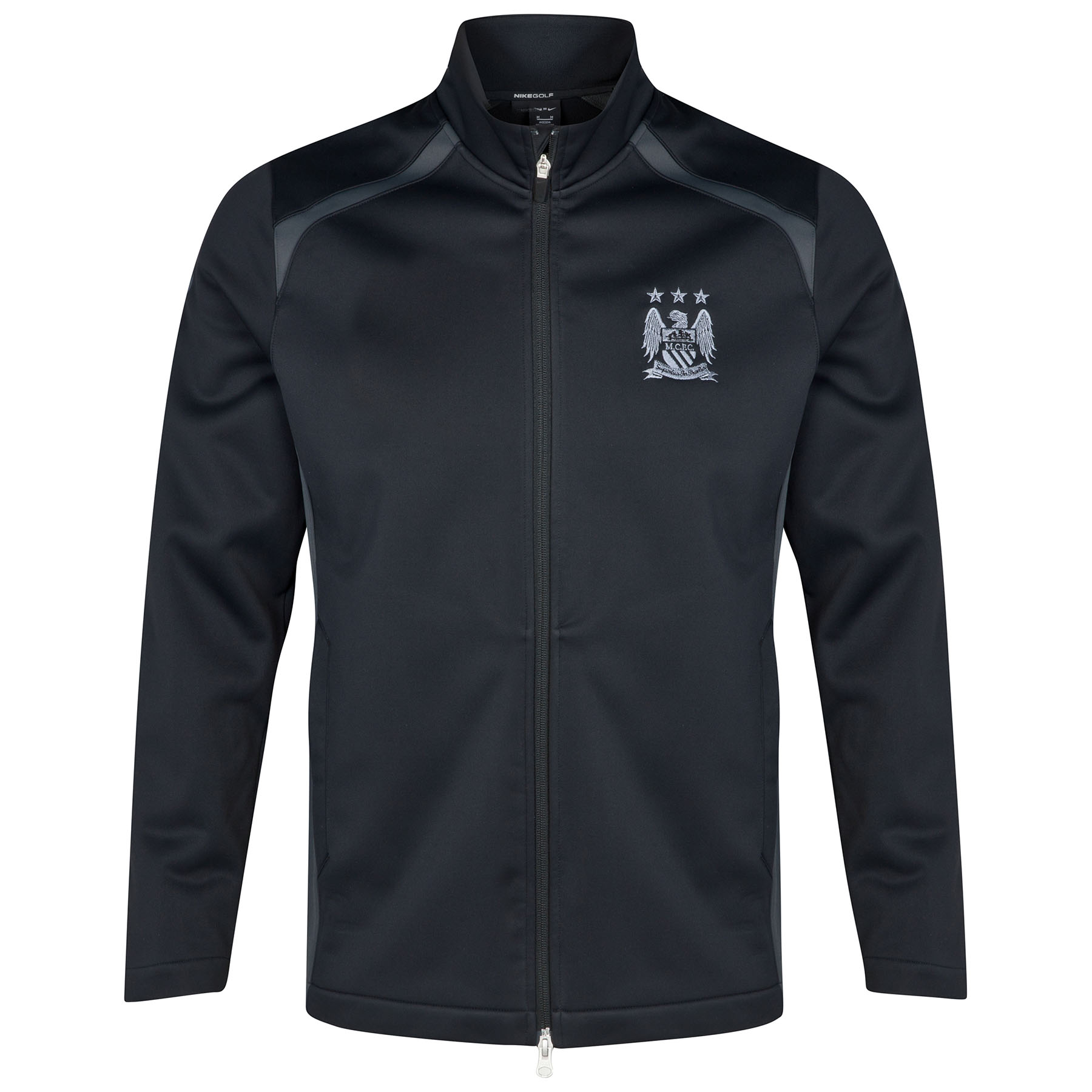 Manchester City Wind Resist Therma Fit Jacket Black