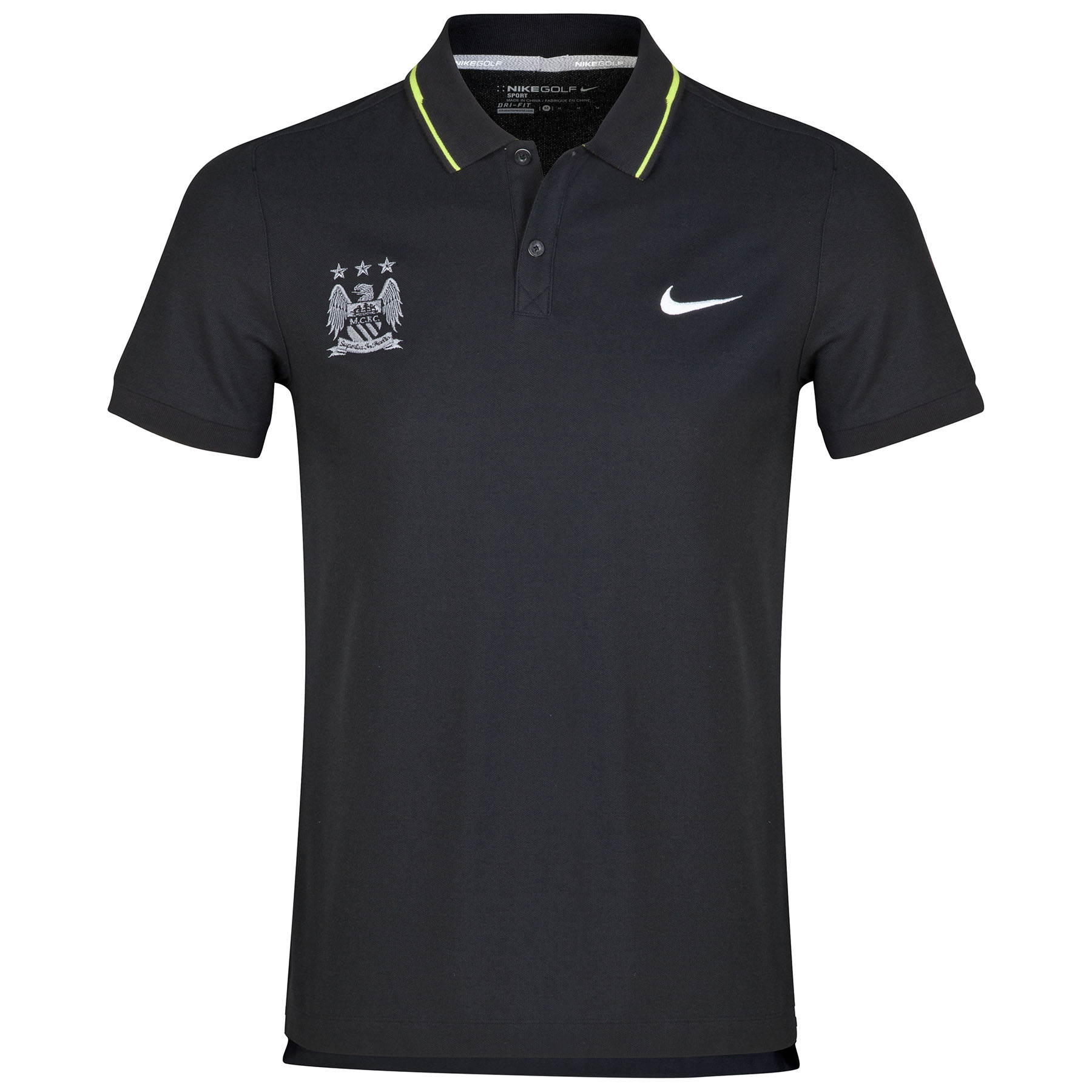 Manchester City Sport Swing Polo Black