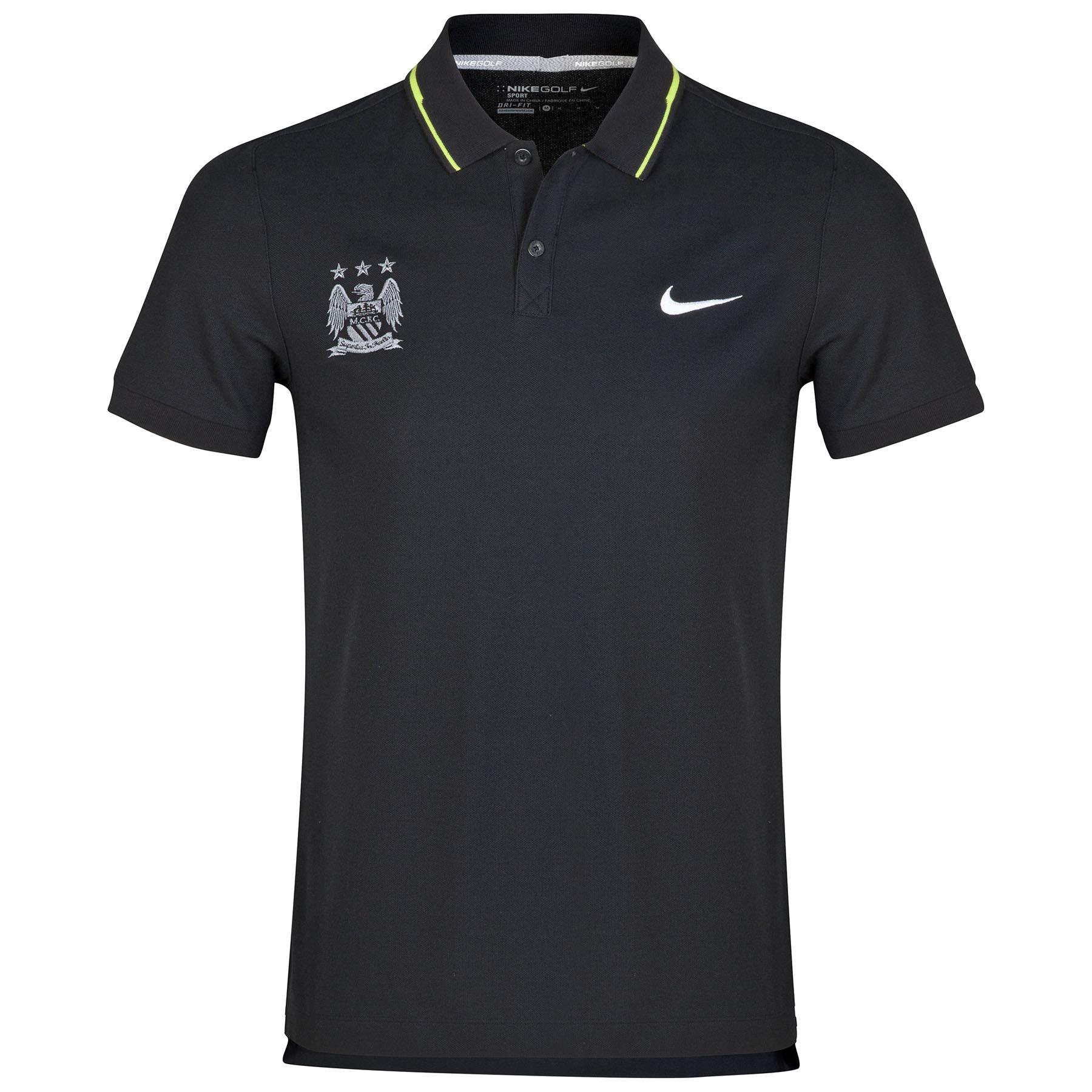 Manchester City Sport Swing Polo Black