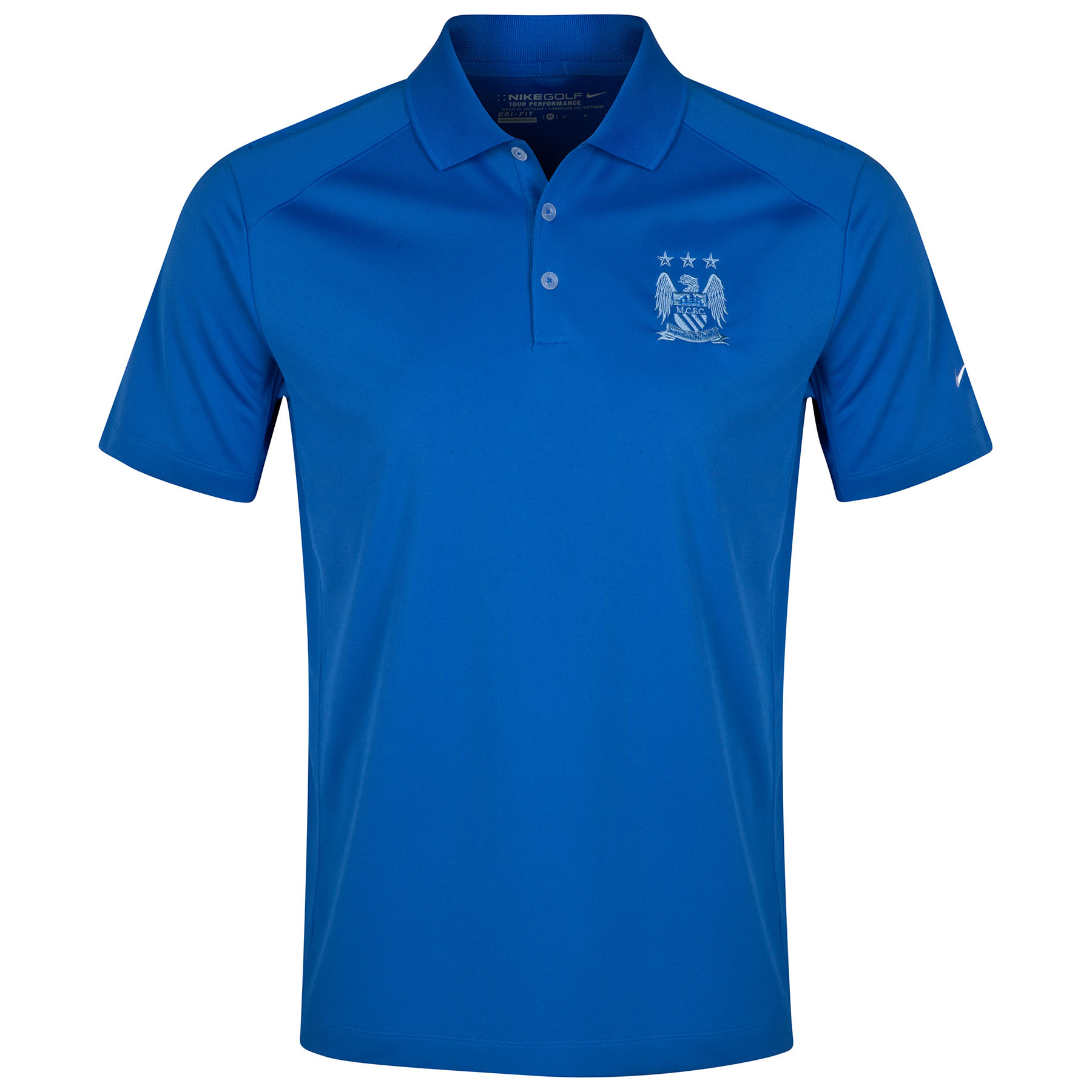 Manchester City Victory Polo Royal Blue