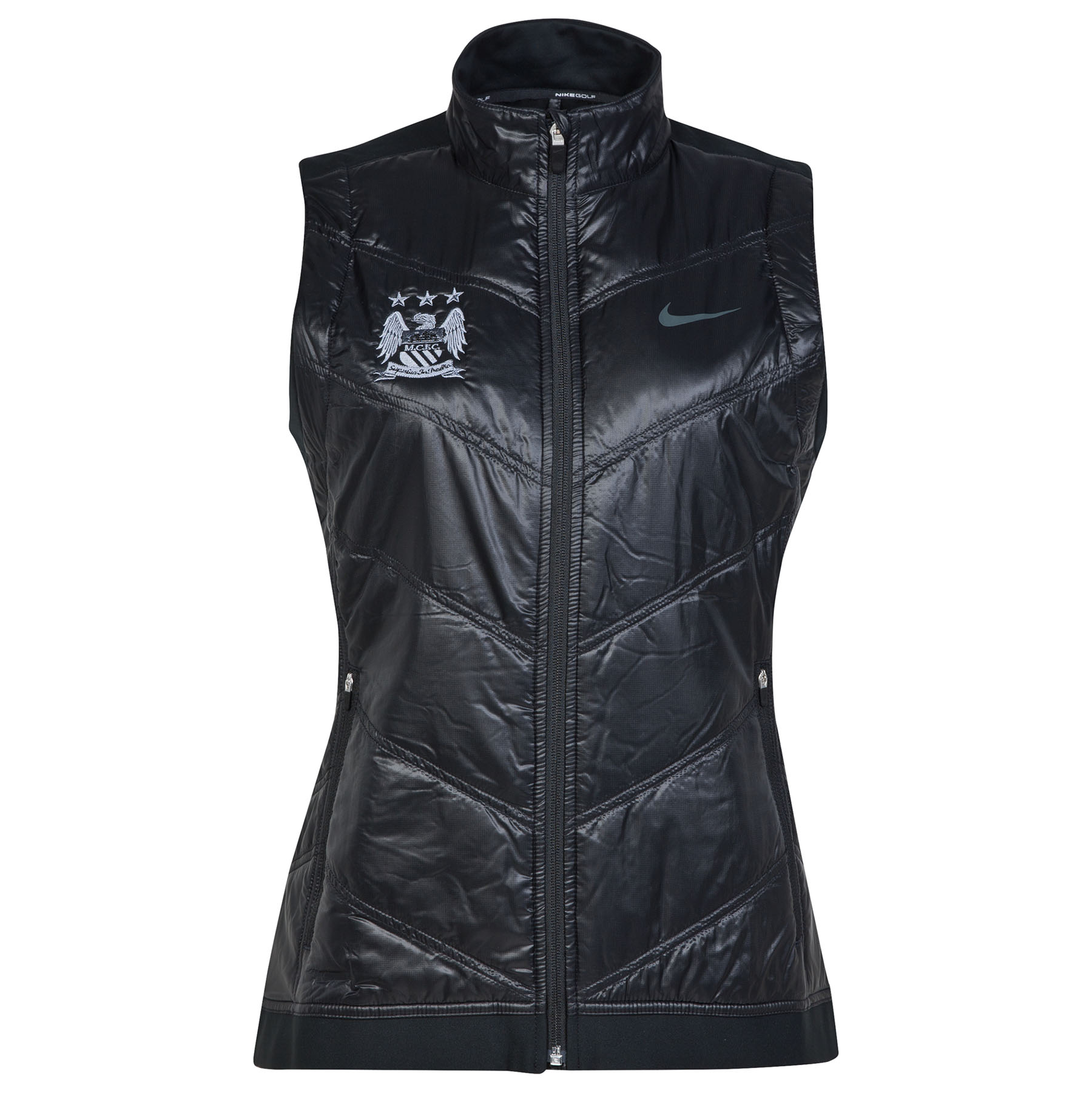 Manchester City Thermal Mapping Vest - Womens Black