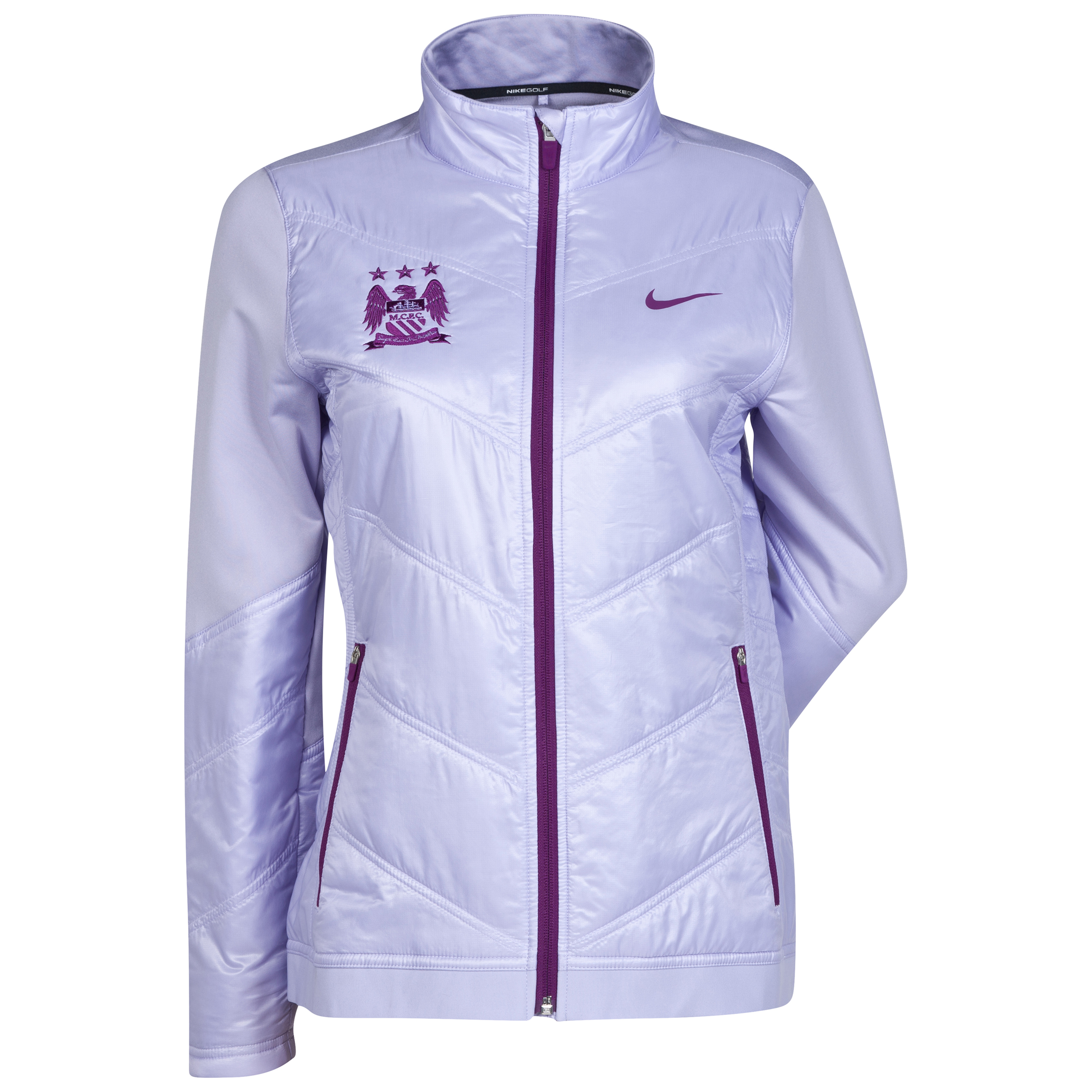 Manchester City Thermal Mapping 3D Jacket Purple