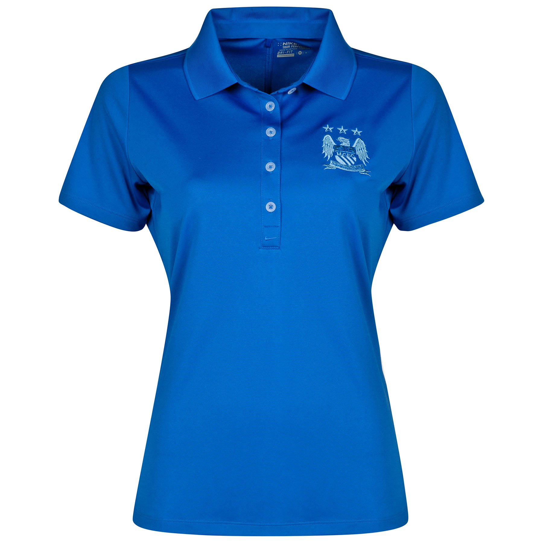 Manchester City Victory Polo - Womens Royal Blue