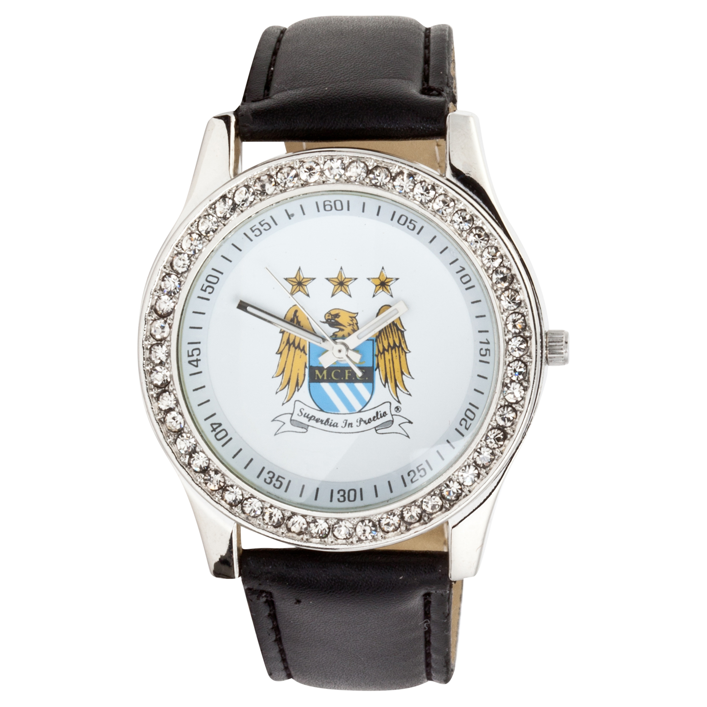 Manchester City Ladies PU Strap Watch