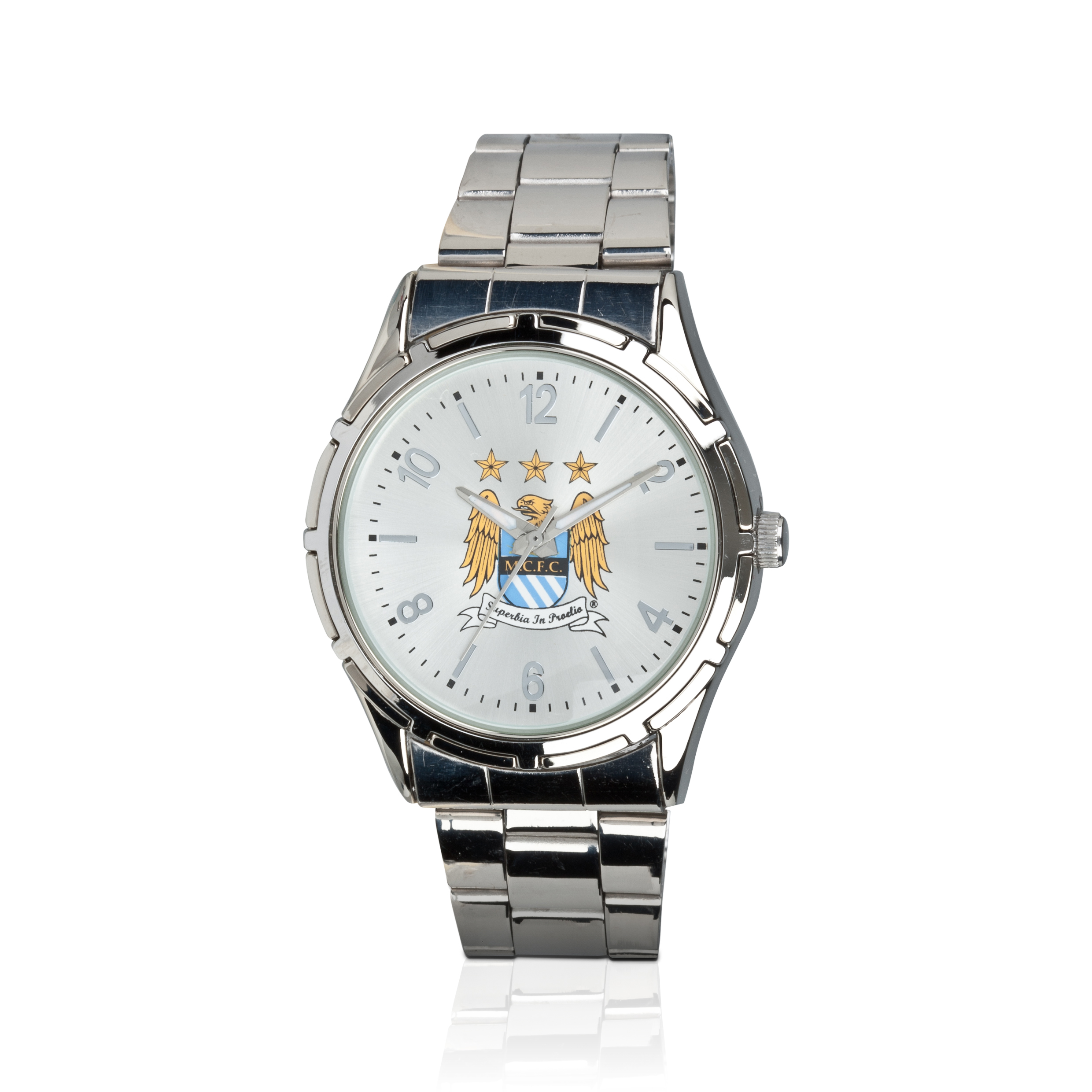 Manchester City Mens Steel Bracelet Watch