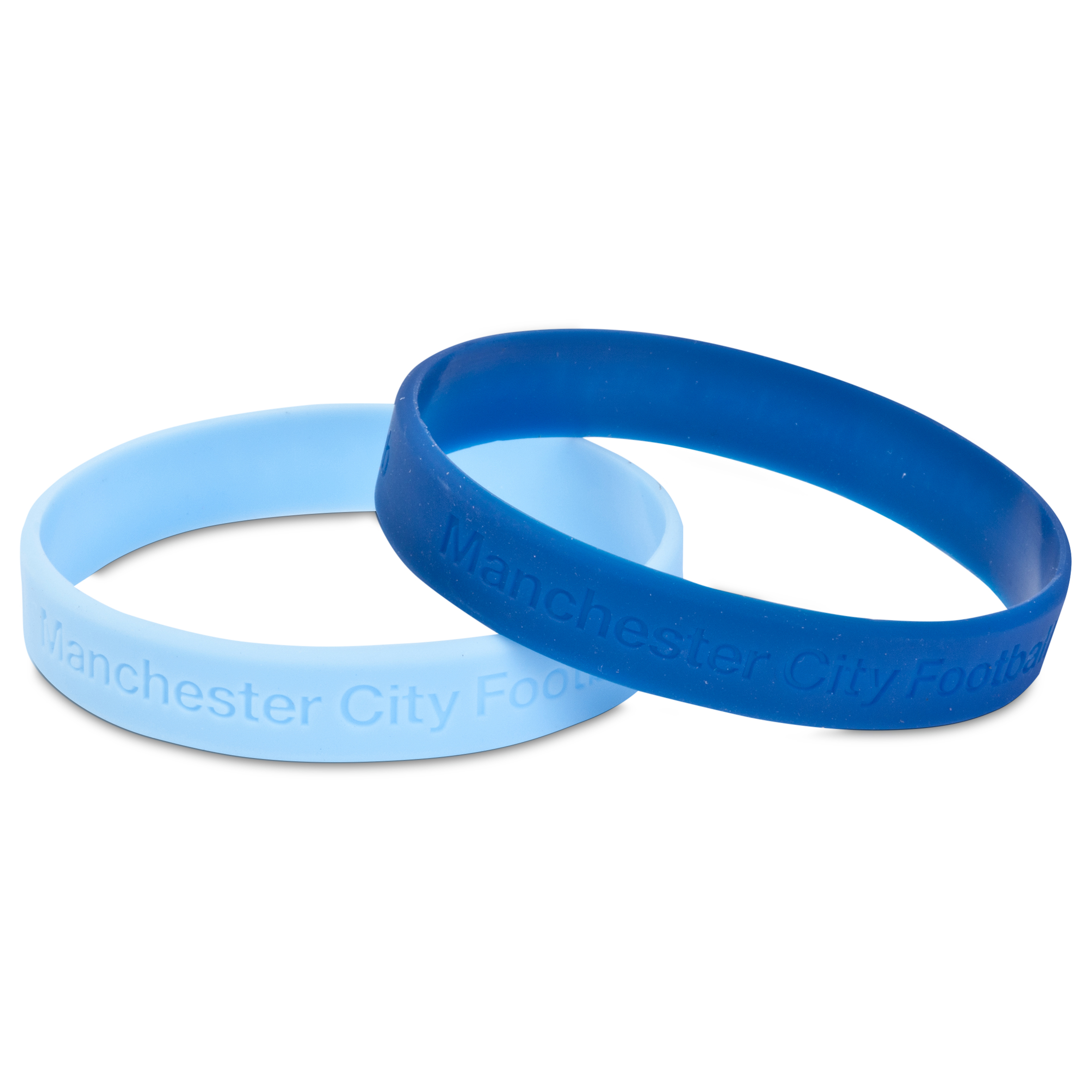 Manchester City Twin Pack Wristband
