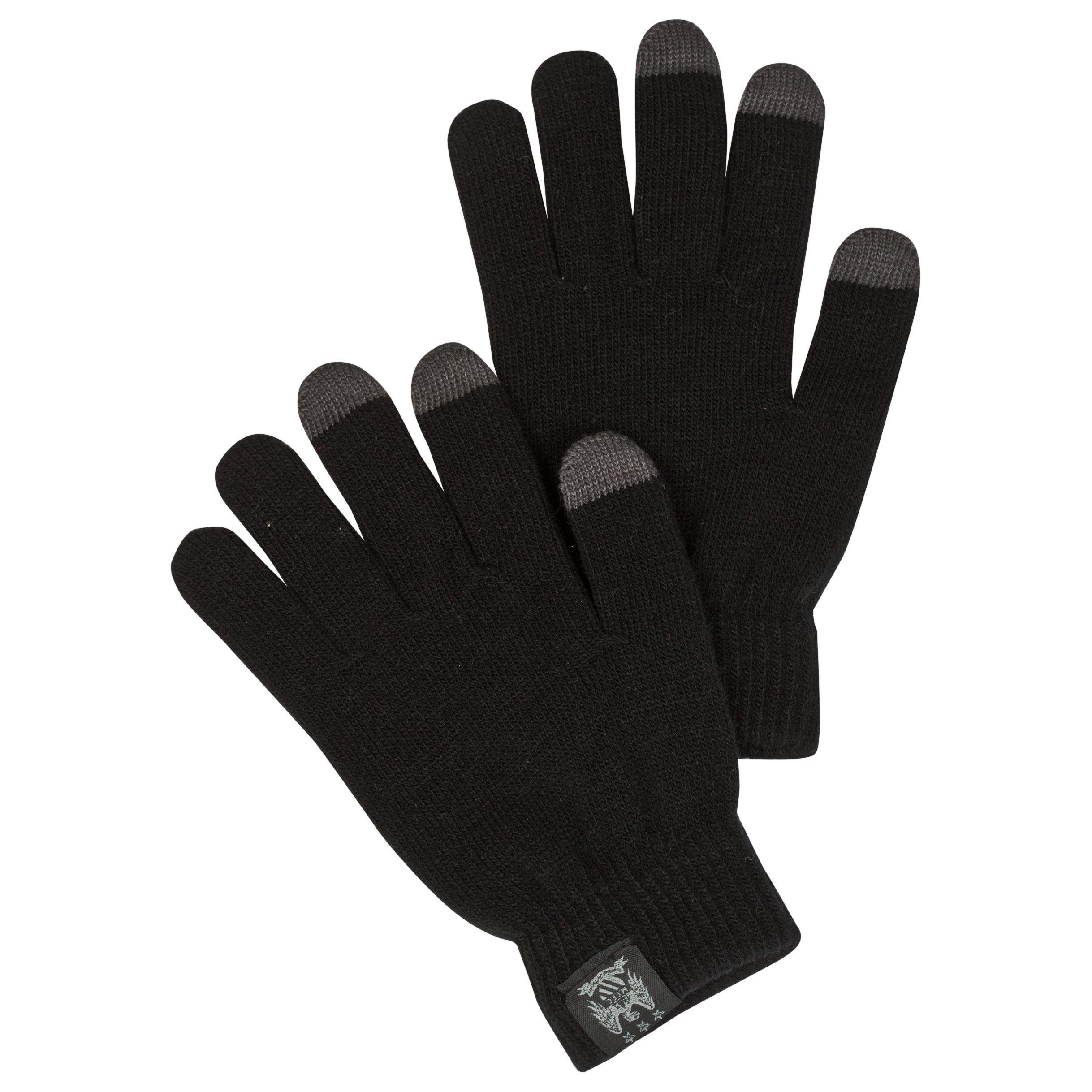 Manchester City Touchscreen Gloves - Black - Junior