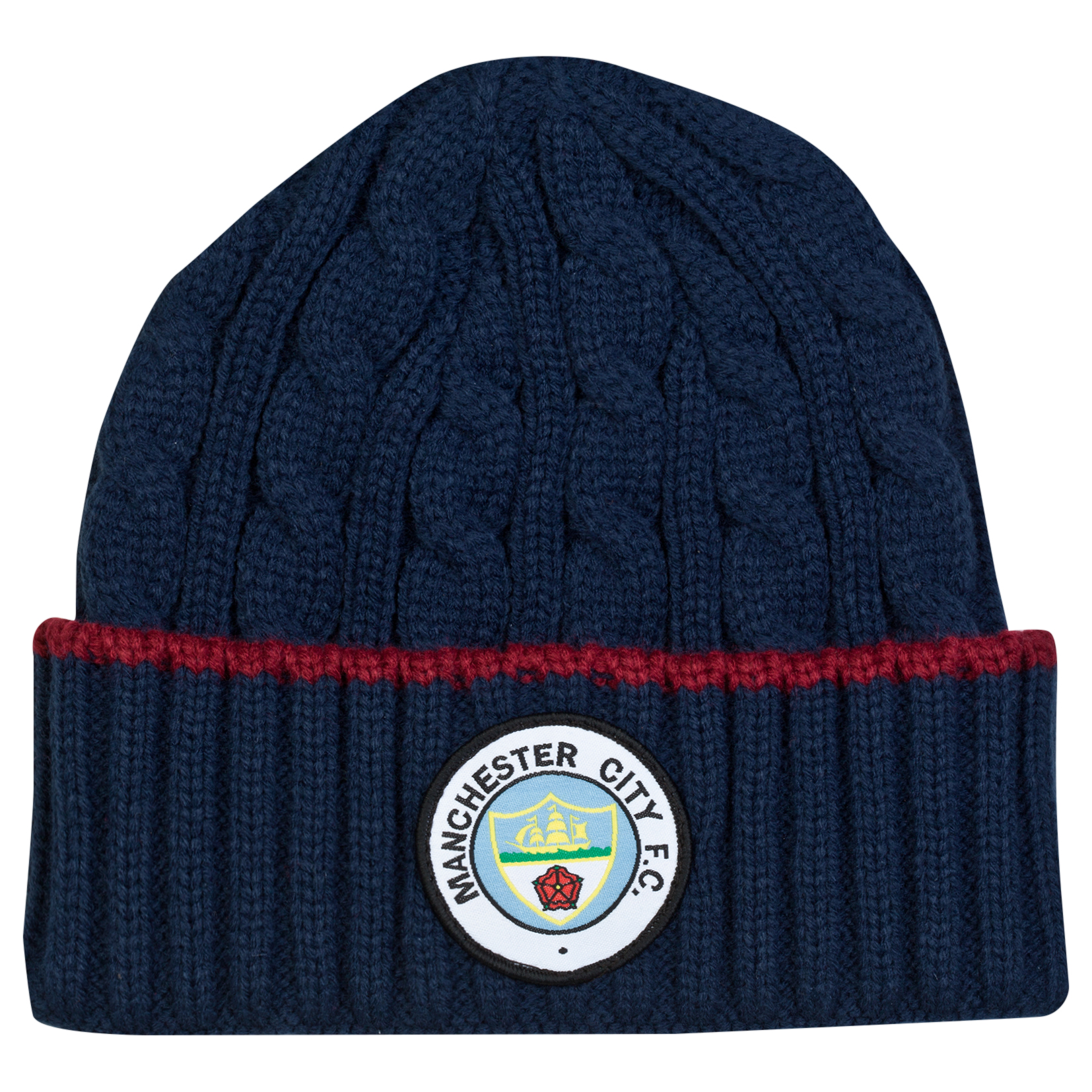 Manchester City Retro Hat - Navy - Adult