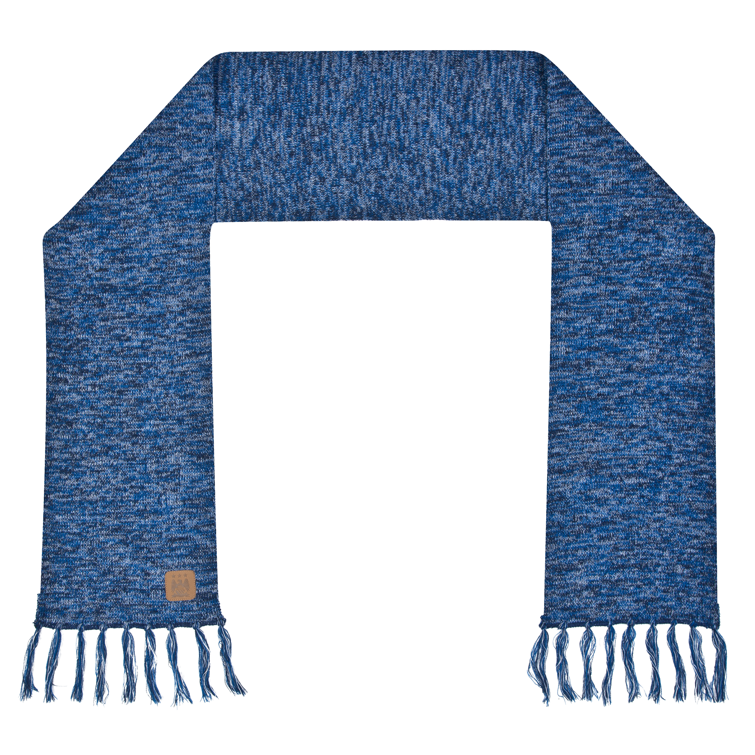 Manchester City Melange Scarf - Blue - Adult