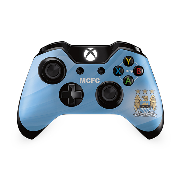Manchester City X Box One Controller Skin