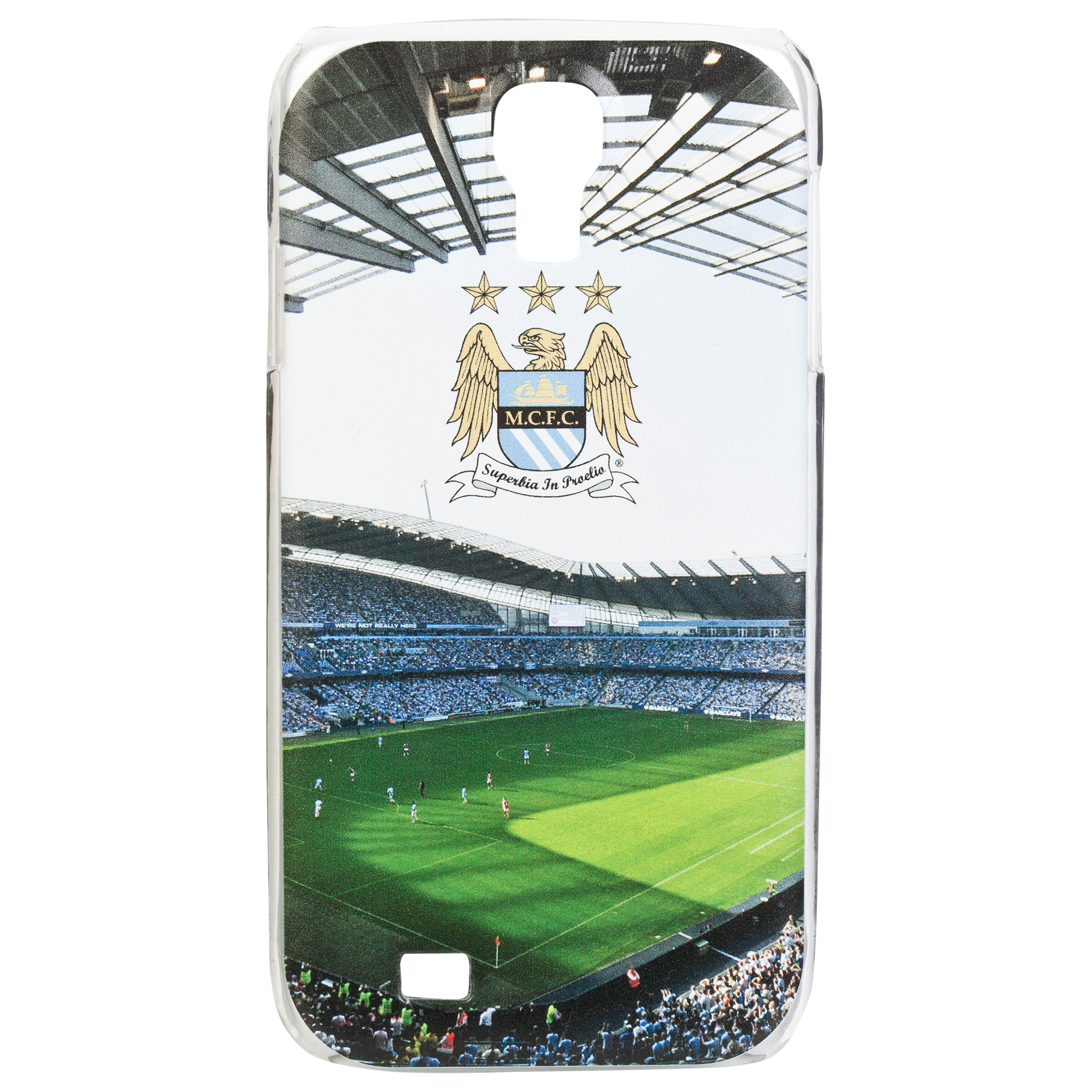 Manchester City Samsung S4 Hard Case Cover