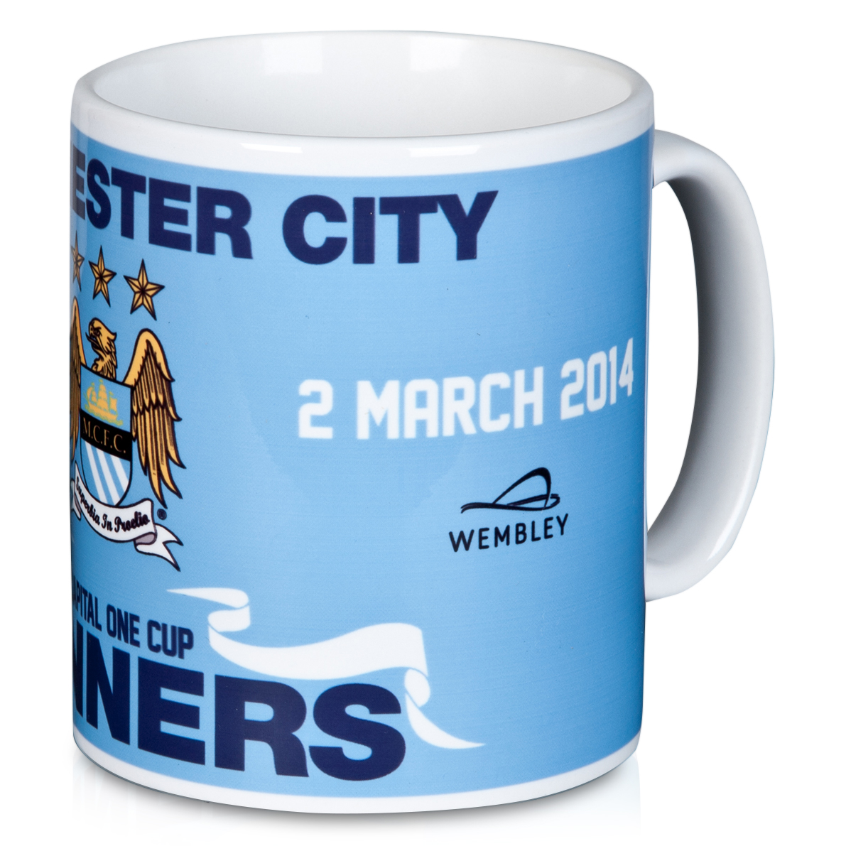 Manchester City Capital One Cup Winners Mug