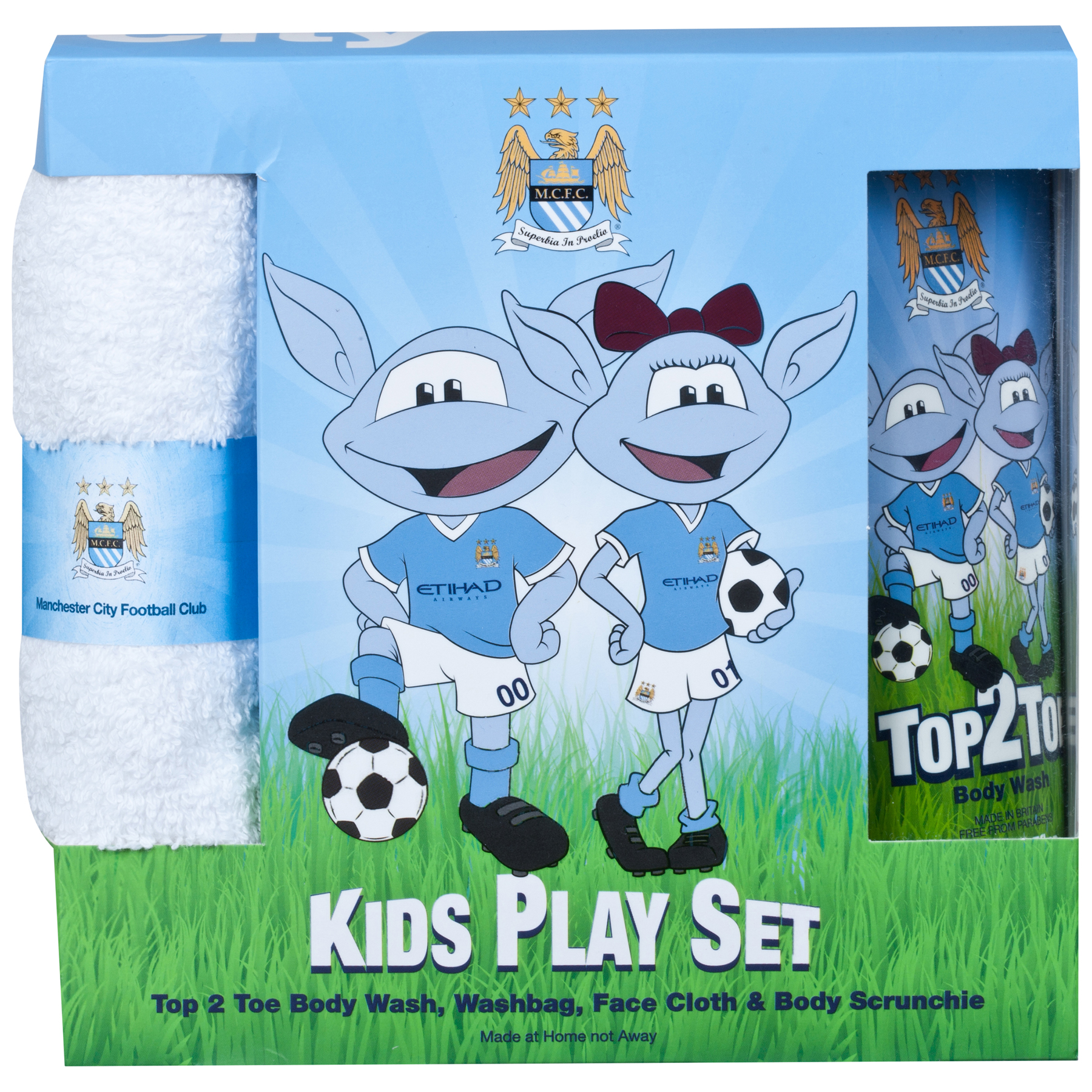 Manchester City Kids Play set