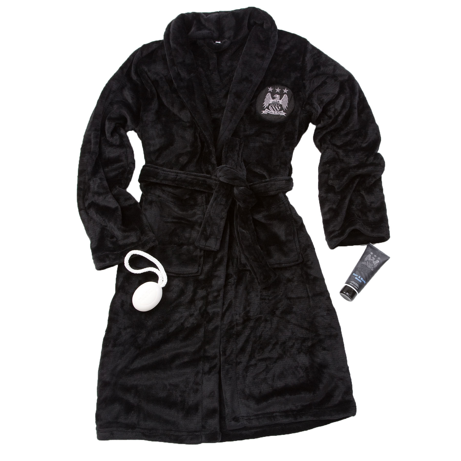 Manchester City Luxury Bathrobe Set