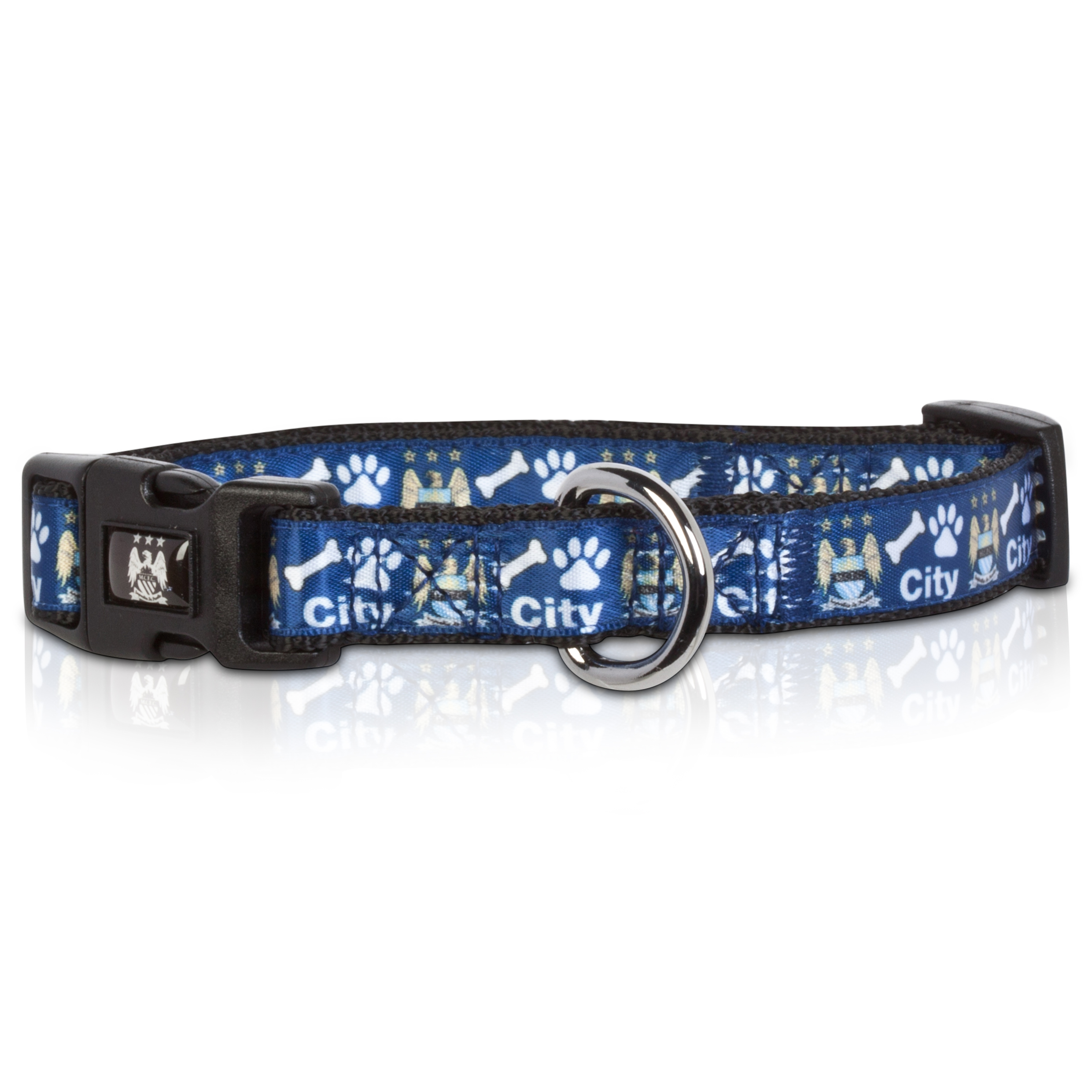 Manchester City Dog Collar Small