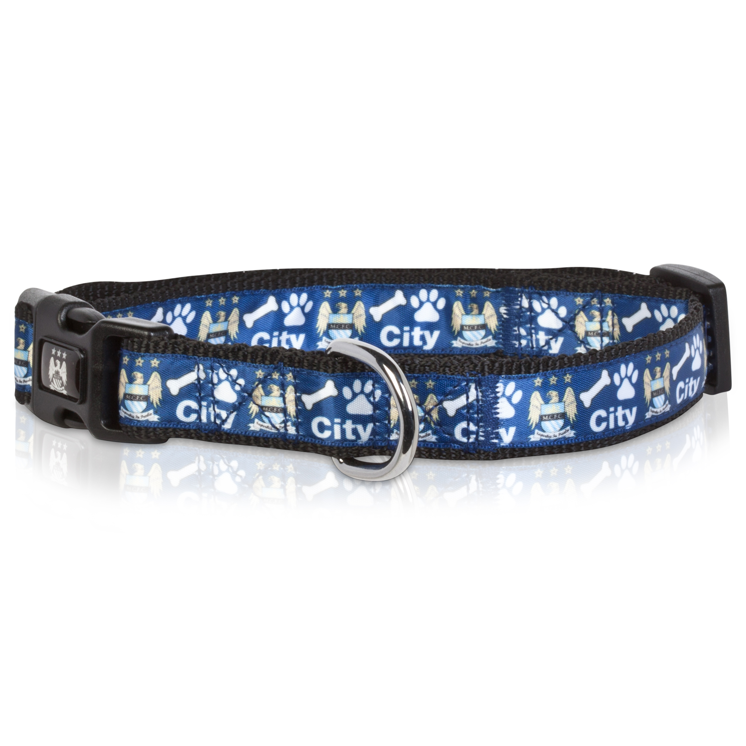 Manchester City Dog Collar Medium
