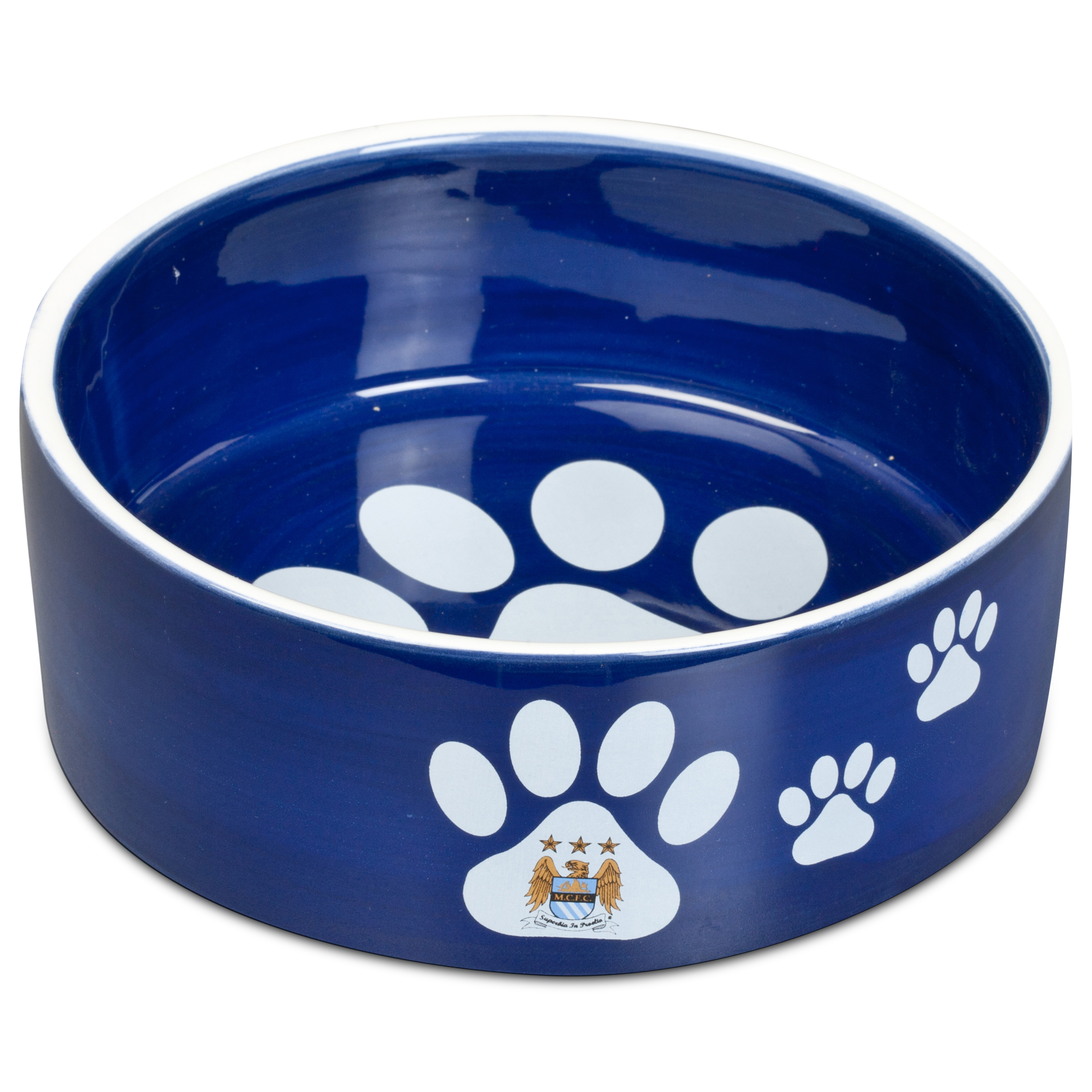 Image of Manchester City Pet Bowl Large