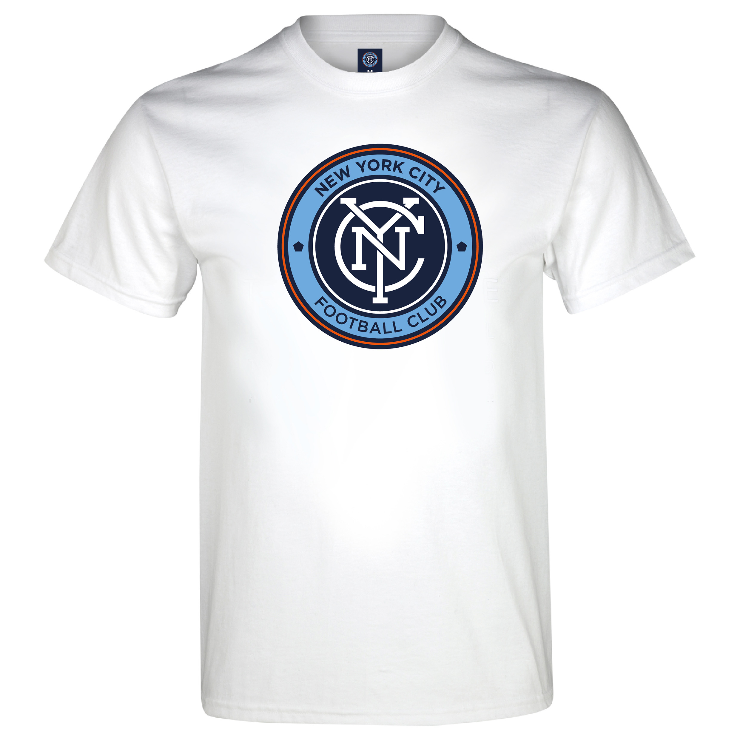 Manchester City New York City T-Shirt - White - Mens