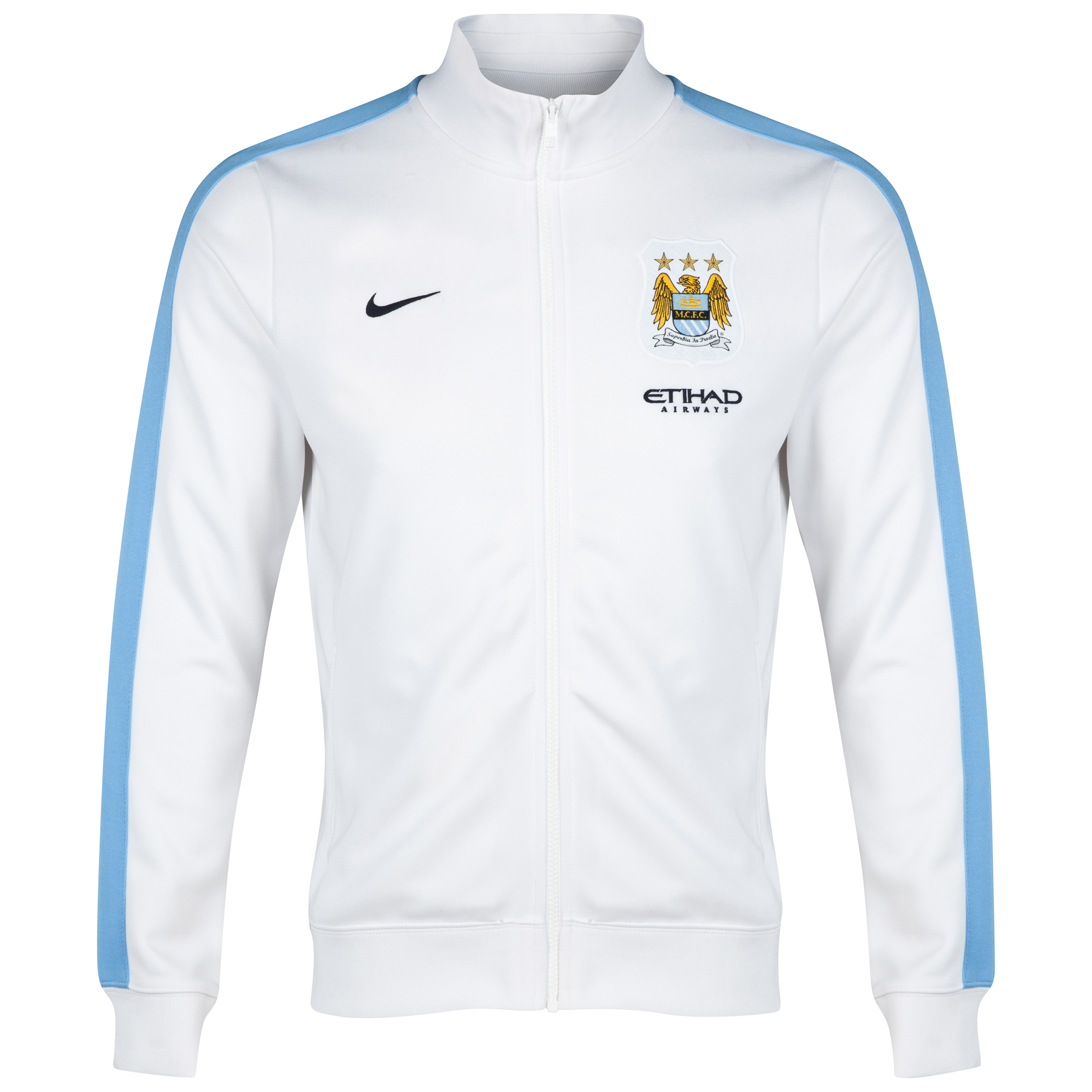 Manchester City Authentic N98 Jacket - White White