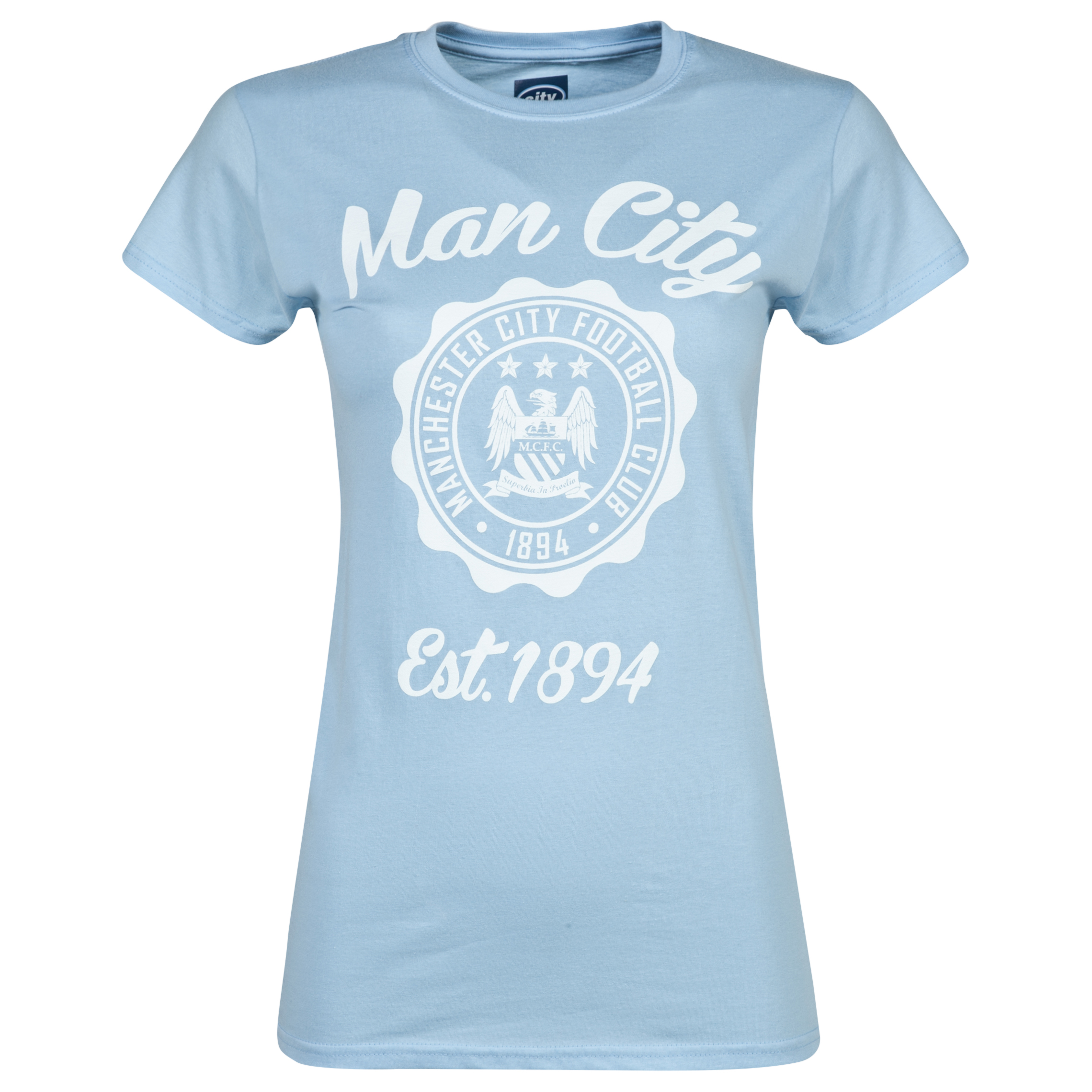 Manchester City 2 for 20 Circle T-Shirt