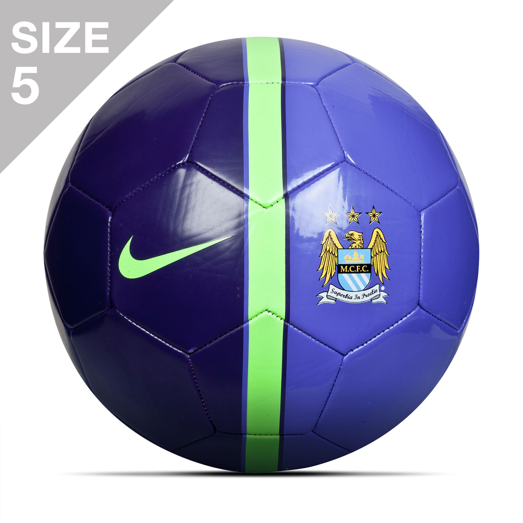 Manchester City Supporters Football Purple