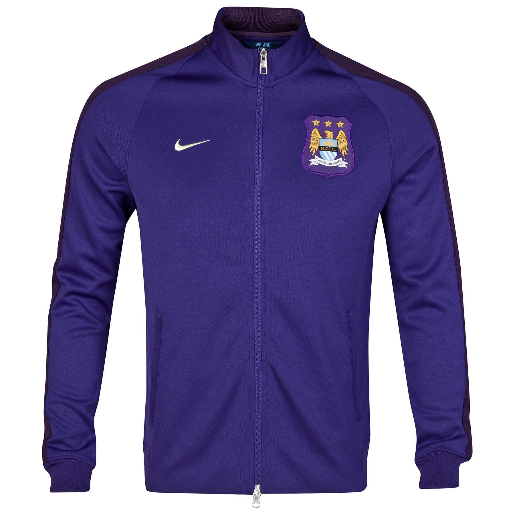 Manchester City Authentic N98 Jacket Purple