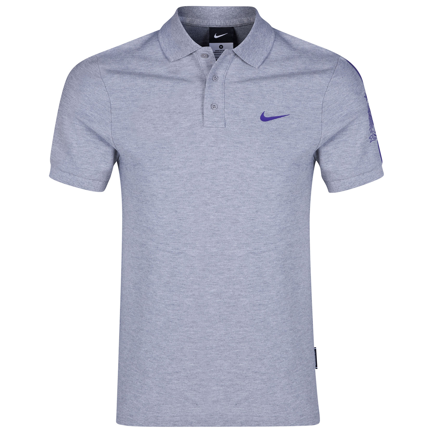 Manchester City Core Match Up Polo Dk Grey