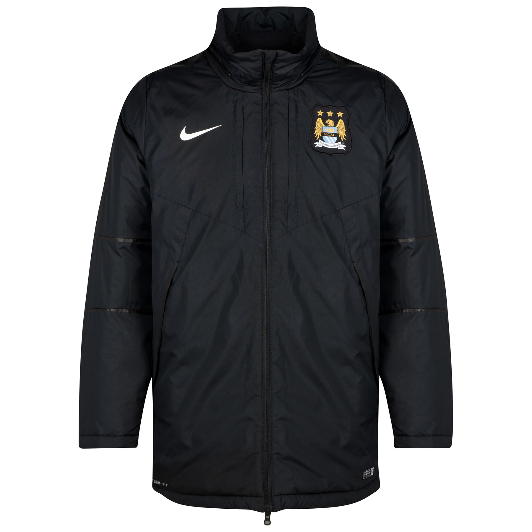 Manchester City Squad Medium Fill Jacket Black