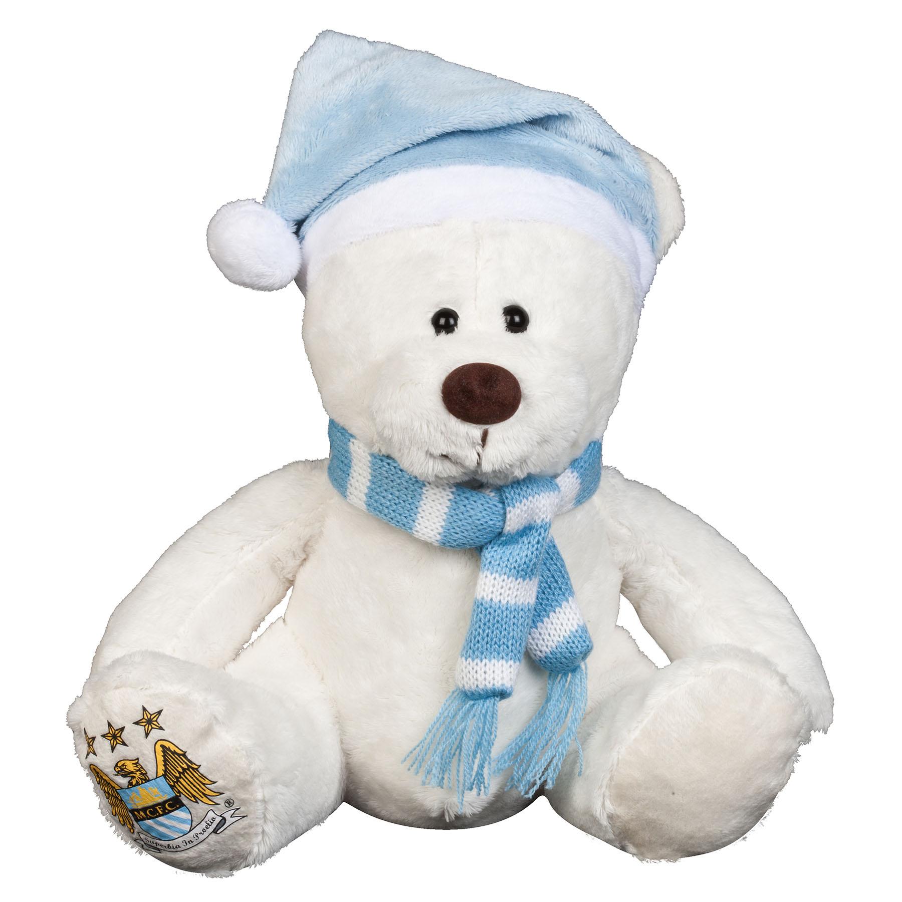 Manchester City 10 Inch Wilbur Bear