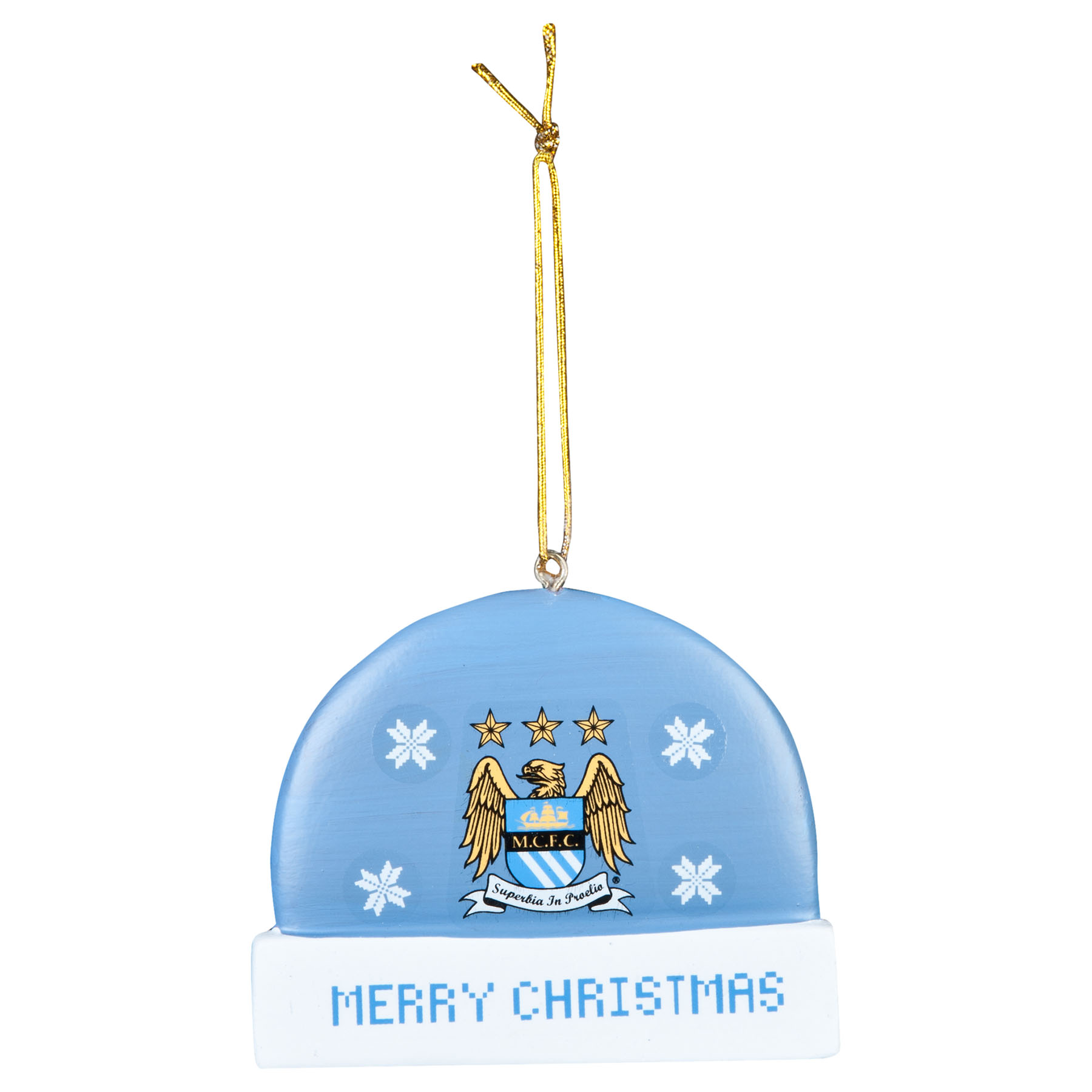 Manchester City Hat Tree Decoration
