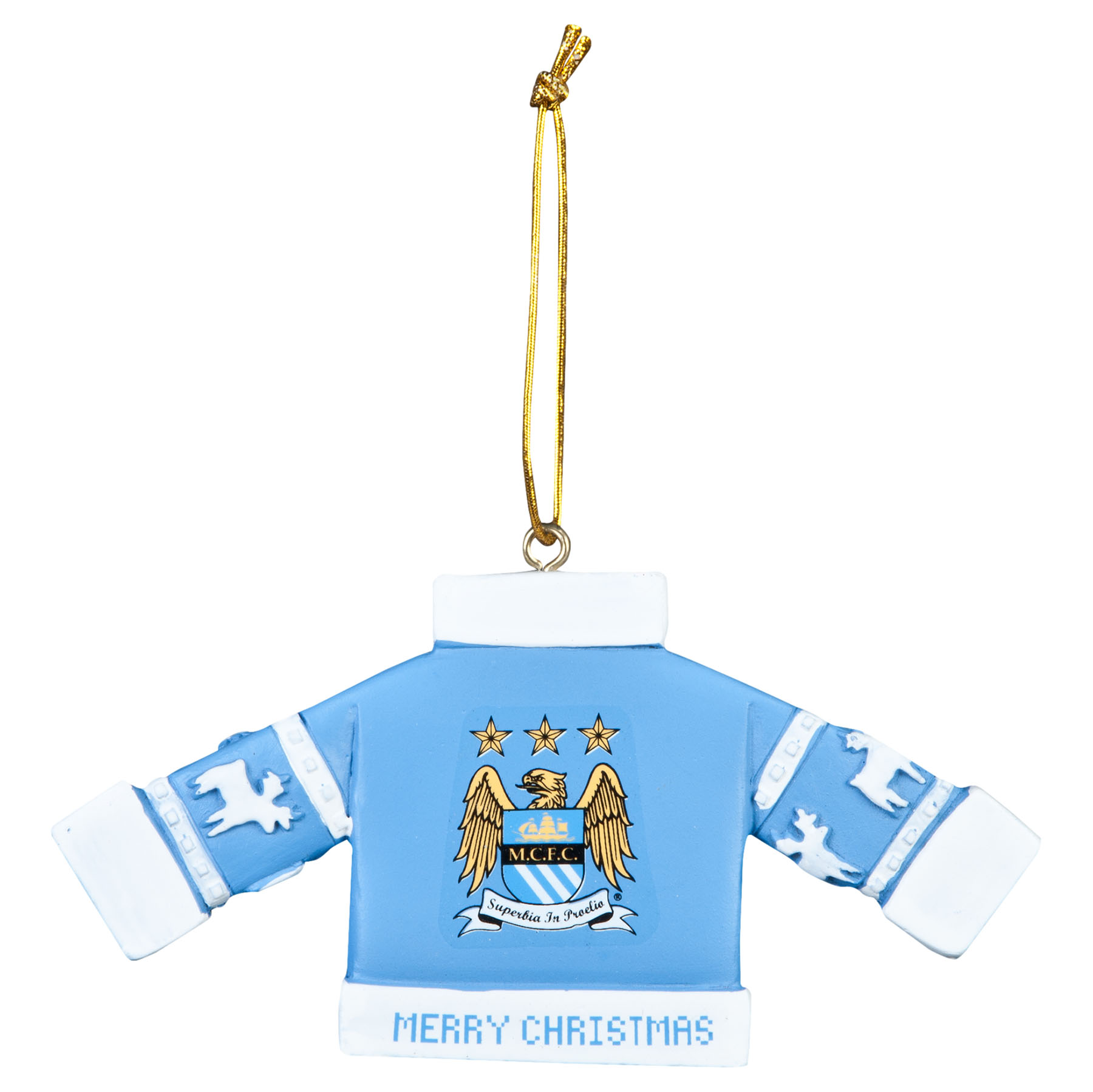 Manchester City Jumper Tree Decoration