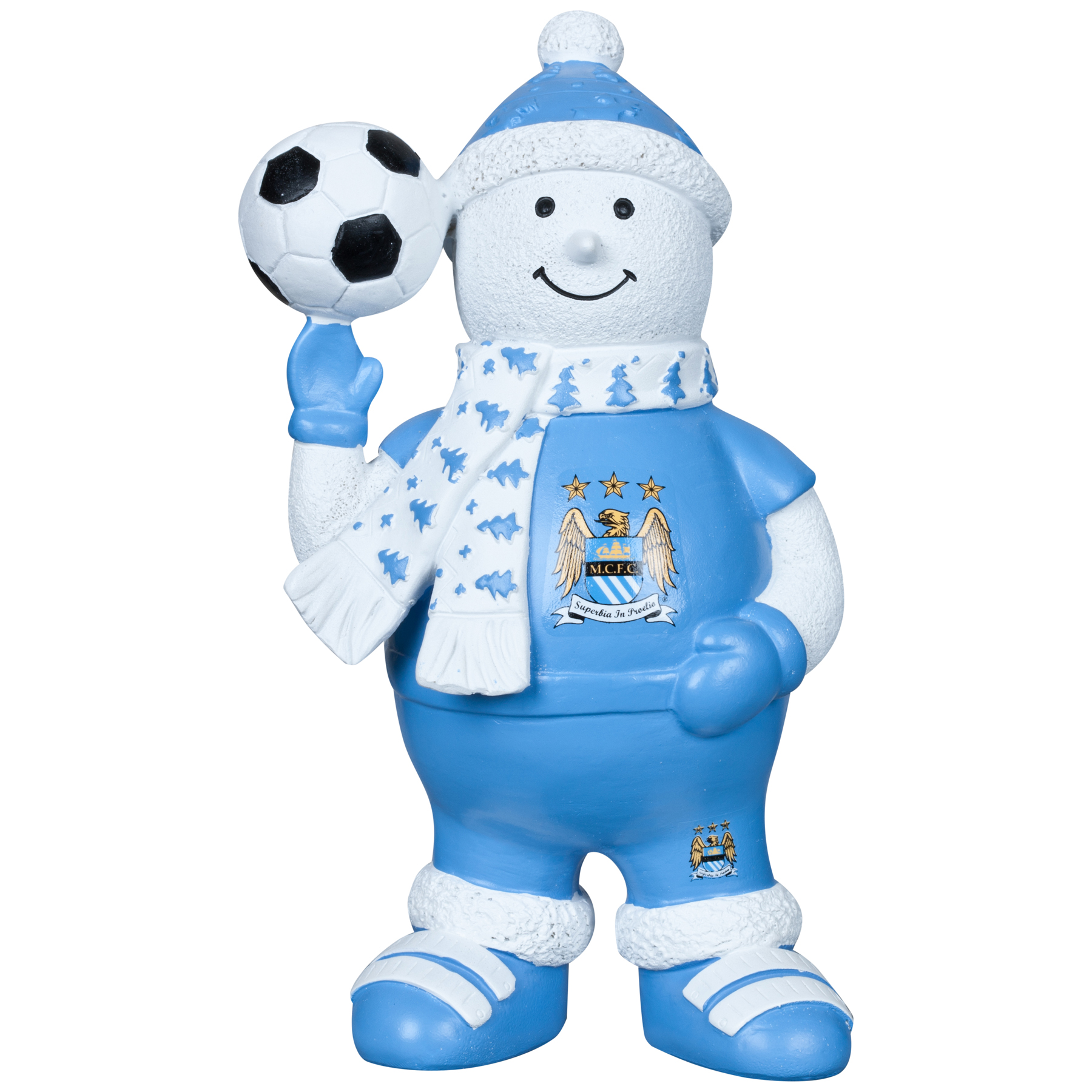 Manchester City Snowman Ornament