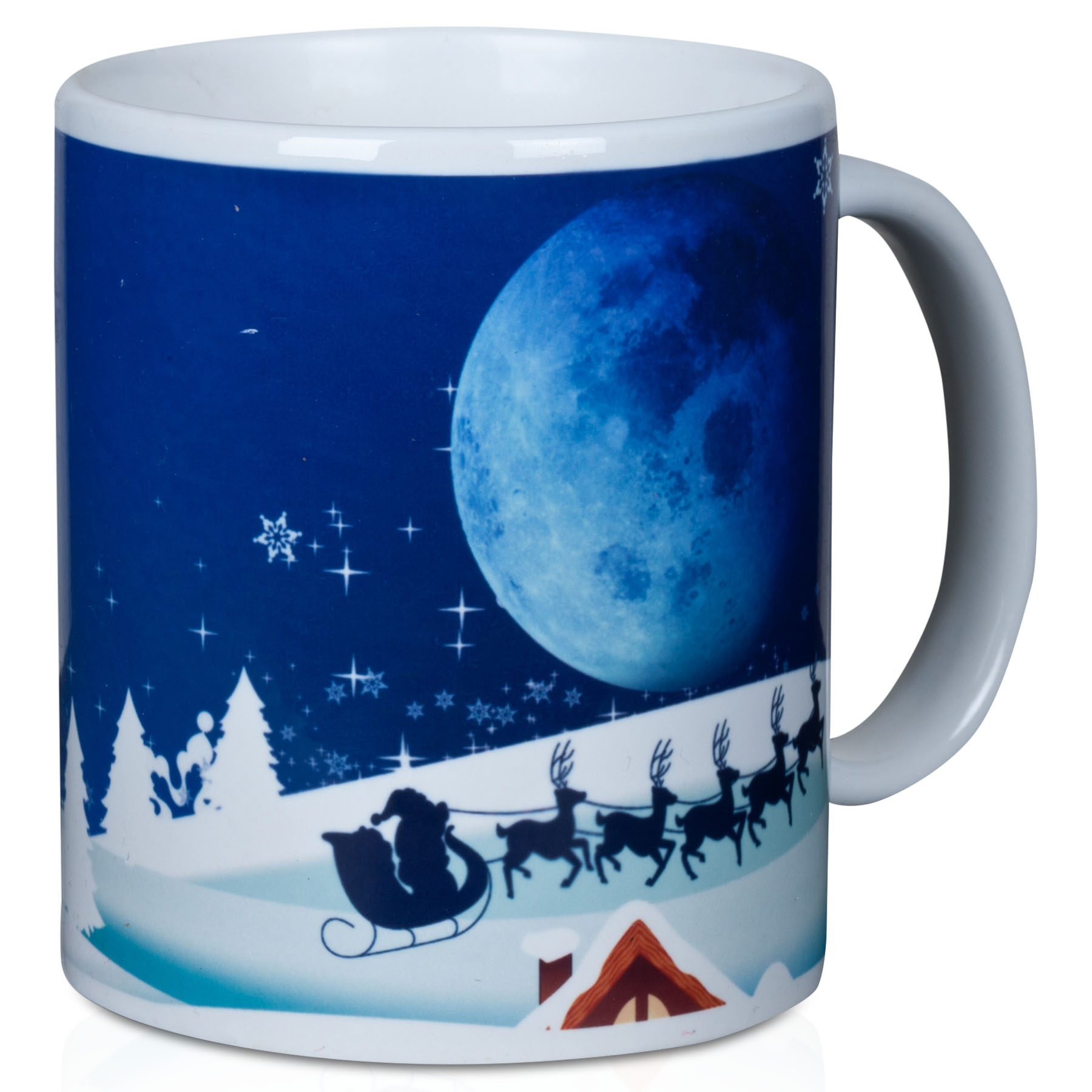 Manchester City Christmas Mug in Gift Box